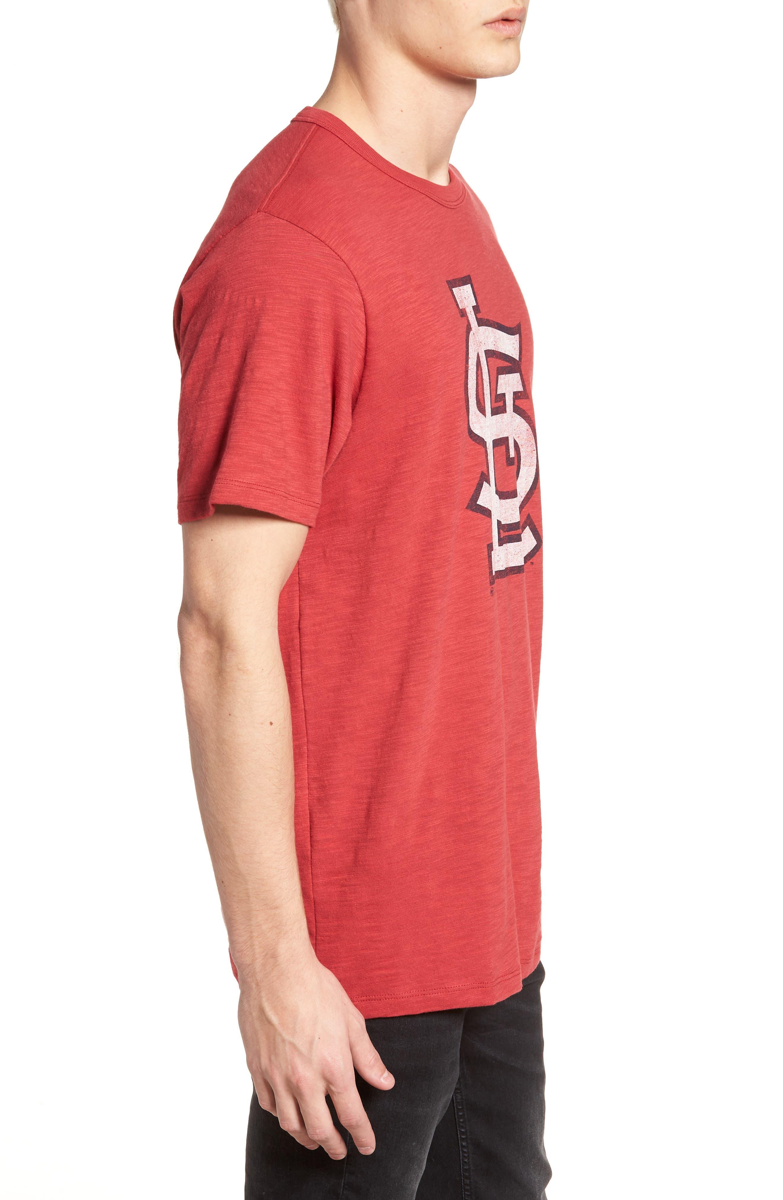 Grit Scrum St. Louis Cardinals T-Shirt,                             Alternate thumbnail 3, color,                             Rescue Red