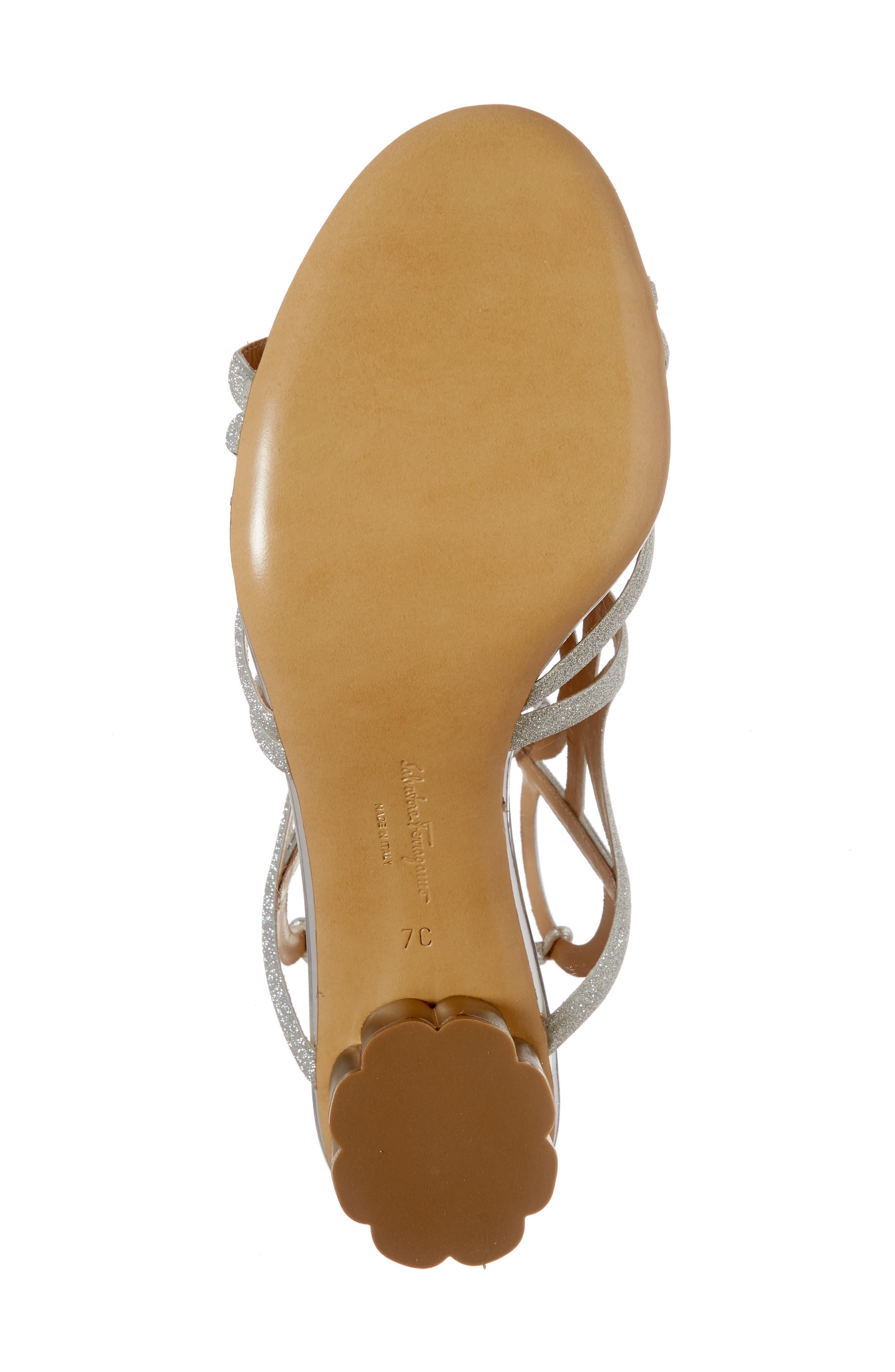 Alternate Image 6  - Salvatore Ferragamo Vinci Lace-Up Sandal (Women)