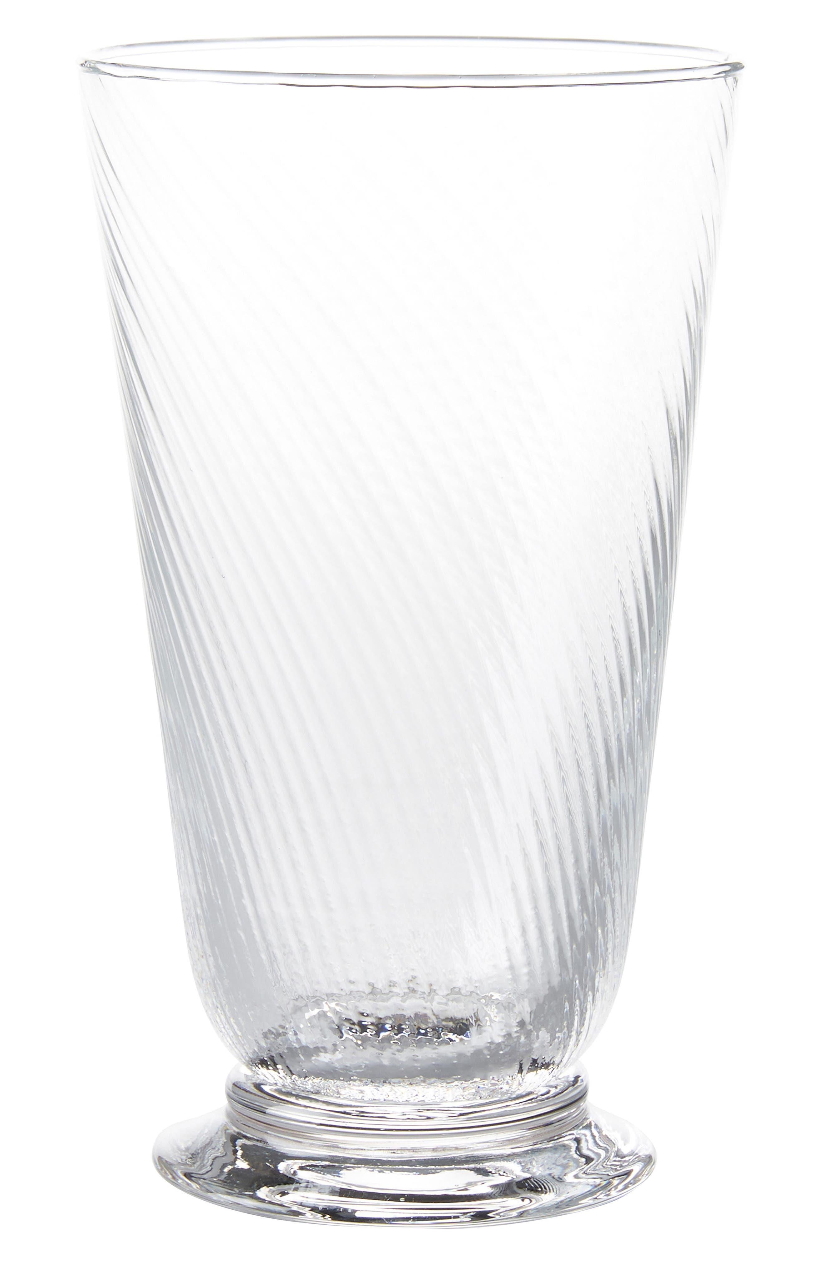 Juliska Arabella Clear Highball Glass