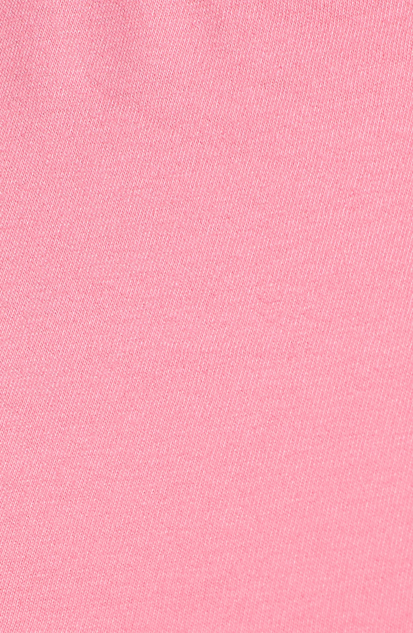 FENTY PUMA by Rihanna Crop Tee,                             Alternate thumbnail 6, color,                             Knockout Pink