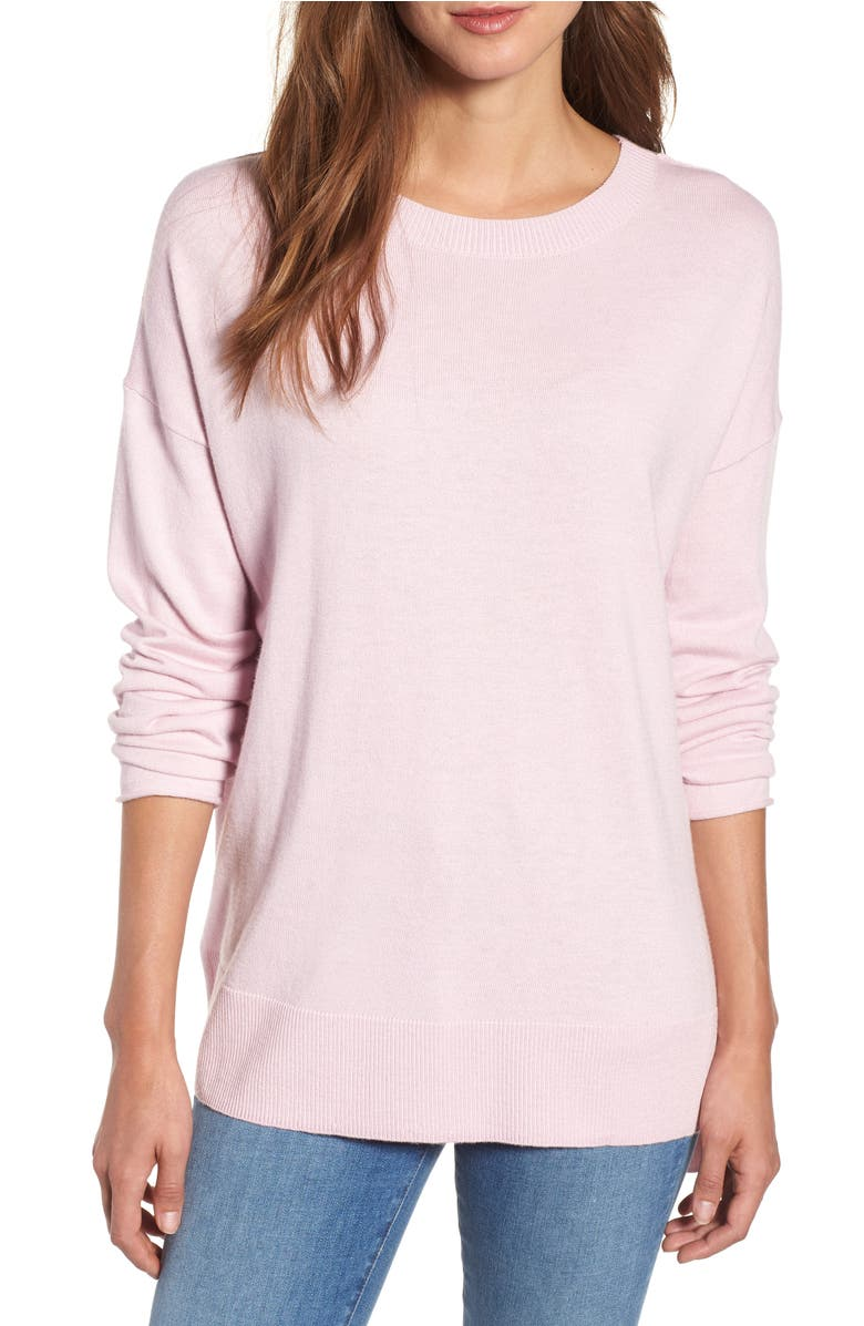 Caslon® V-Back Sweater (Regular & Petite) | Nordstrom