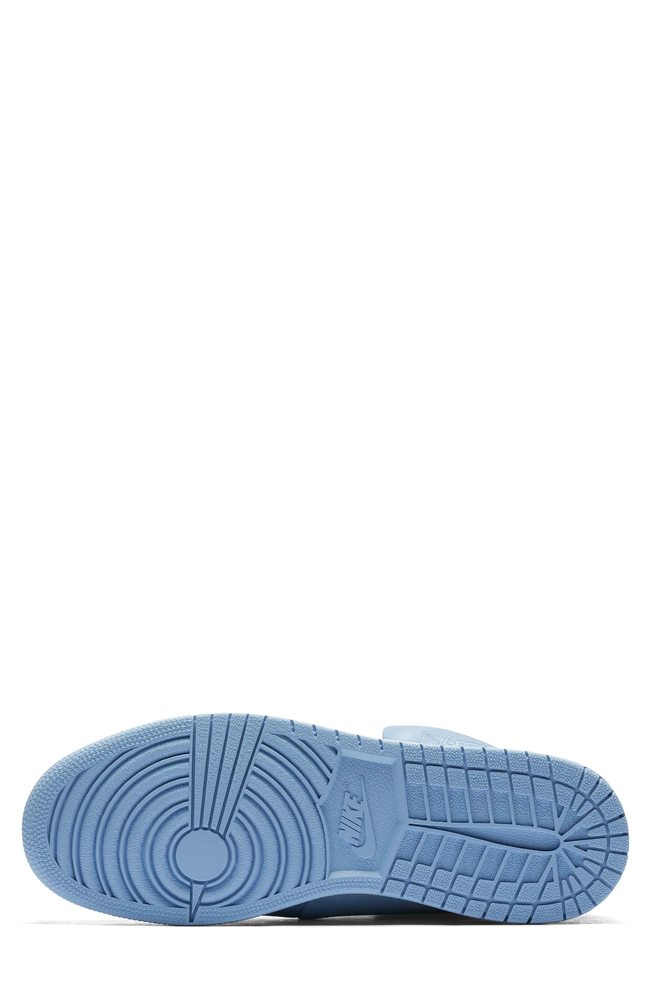 Air Jordan 1 Sage XX High Top Sneaker,                             Alternate thumbnail 5, color,                             Light Blue