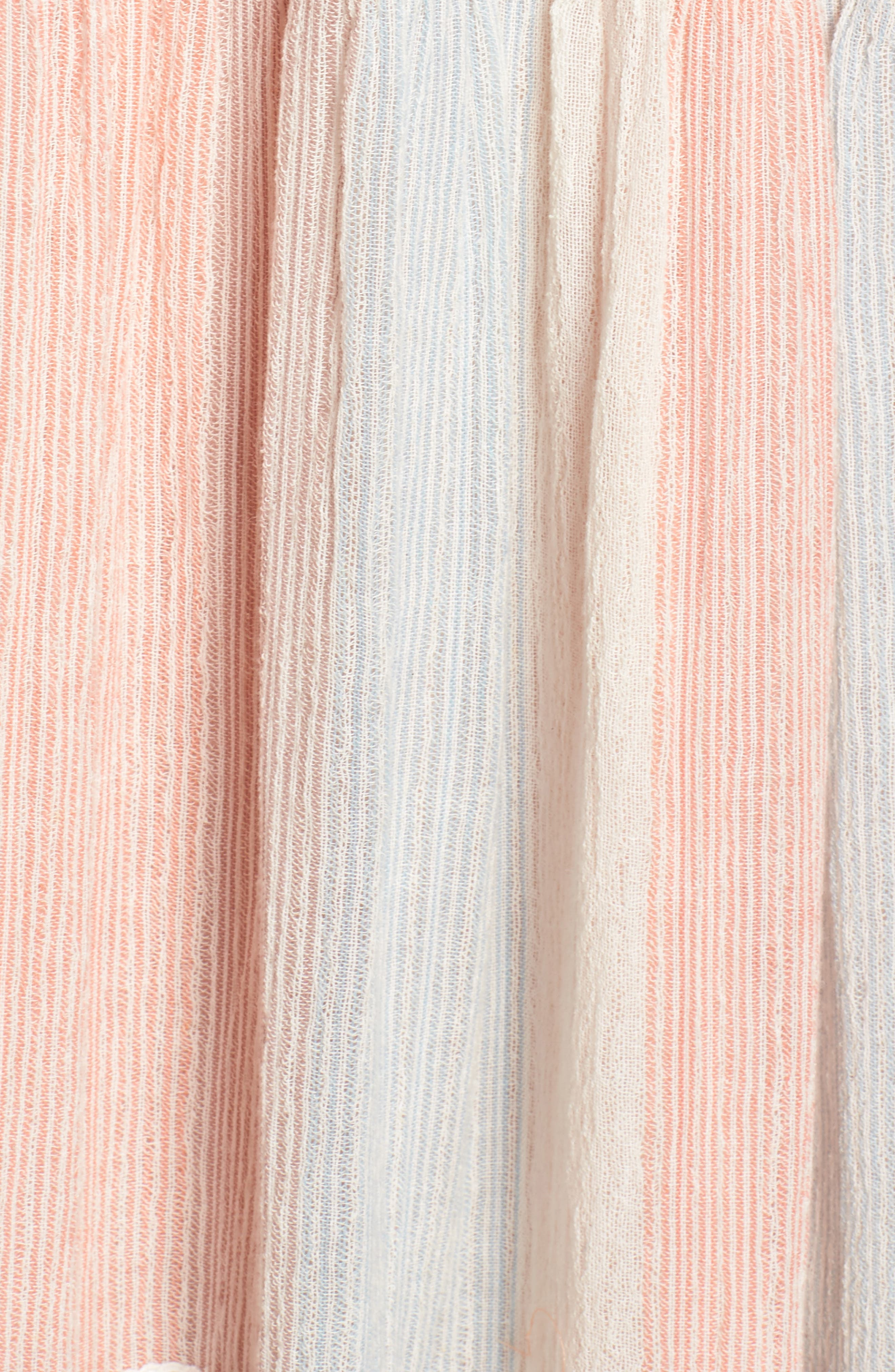 Hemant & Nandita Cover-Up Maxi Dress,                             Alternate thumbnail 5, color,                             Peach