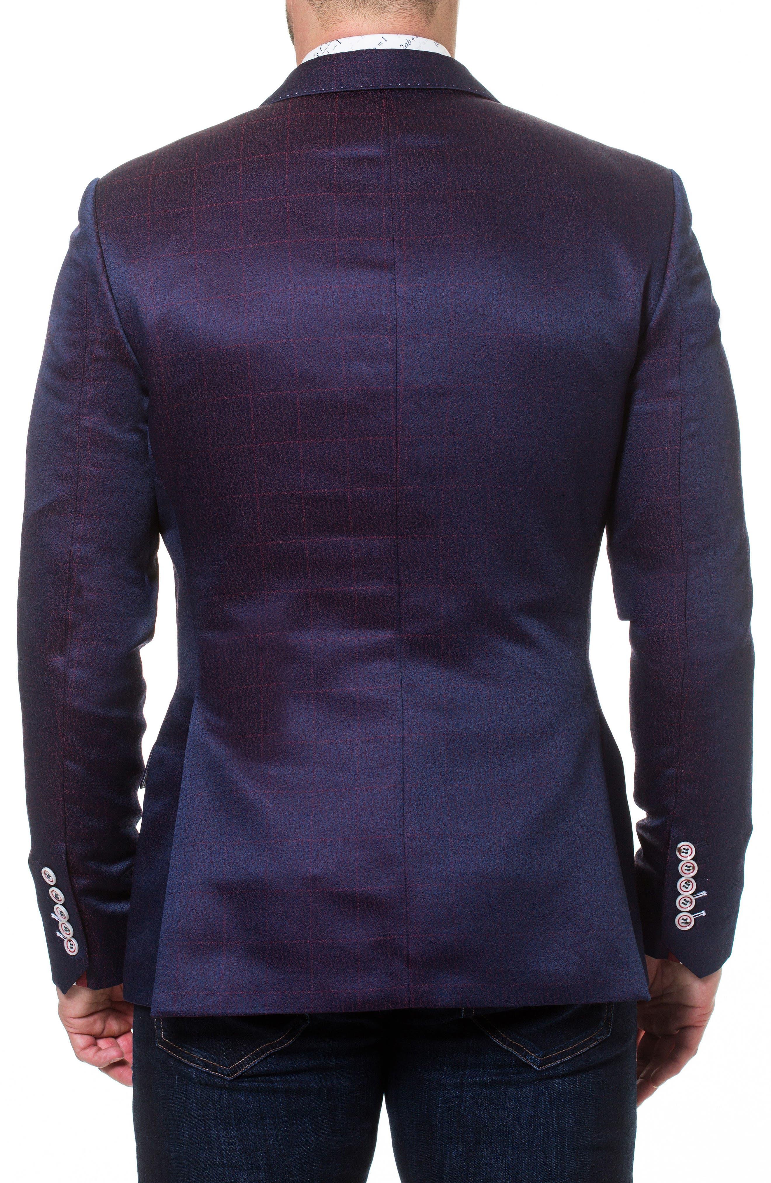 Socrate Fade Sport Coat,                             Alternate thumbnail 2, color,                             Purple