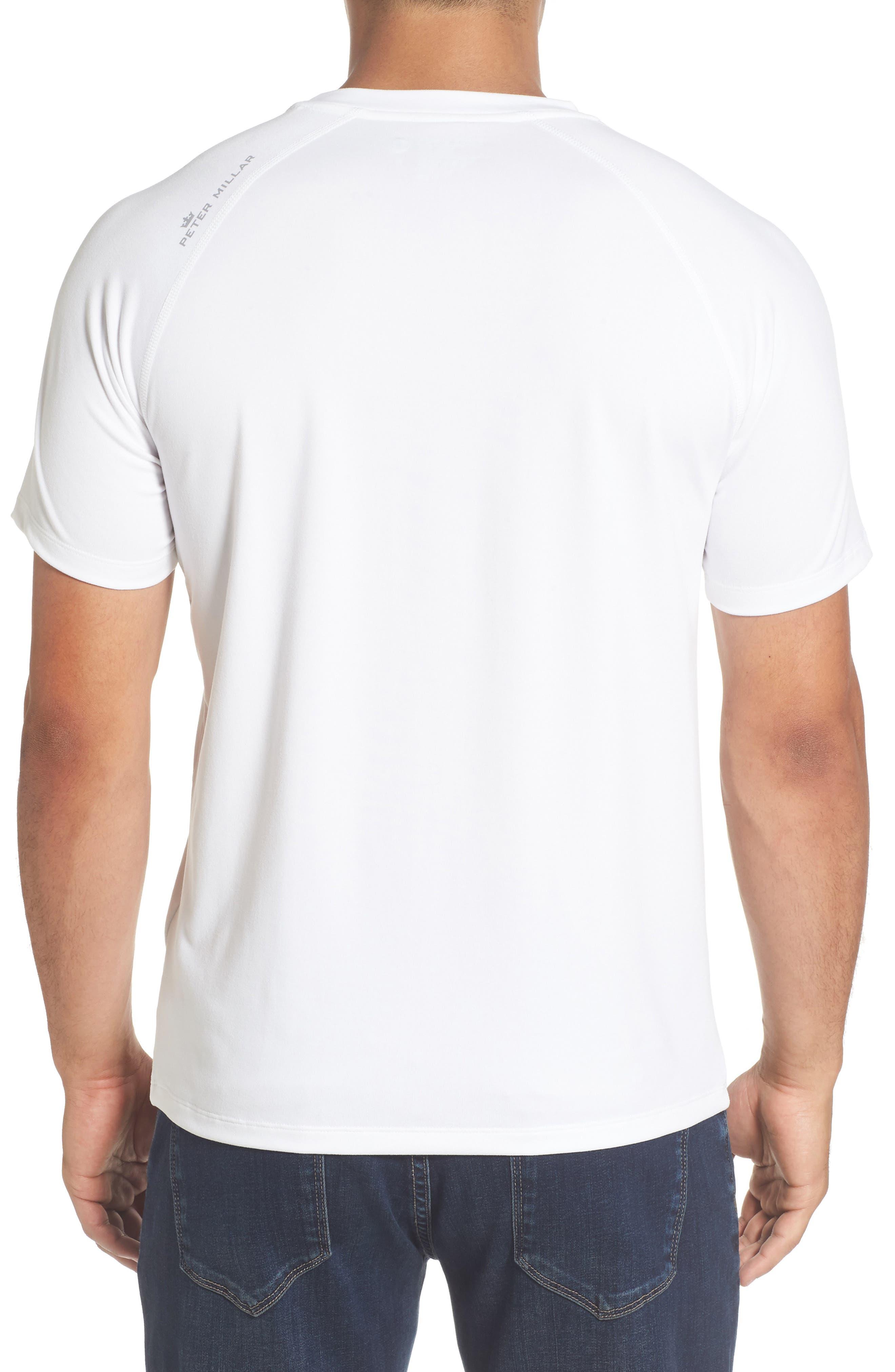 Rio Technical T-Shirt,                             Alternate thumbnail 2, color,                             White