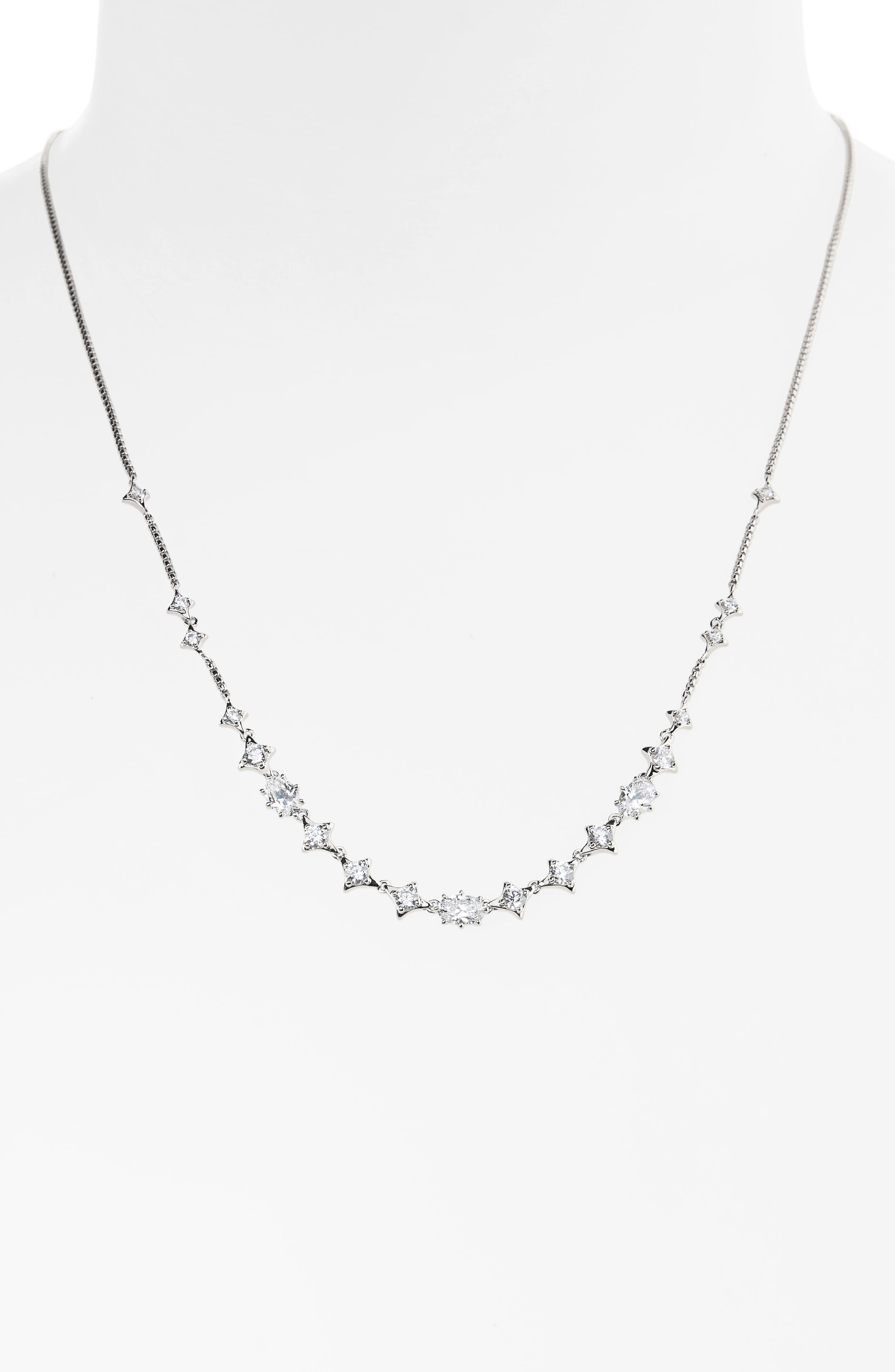 Alternate Image 1 Selected - Nadri Boho Cubic Zirconia Necklace