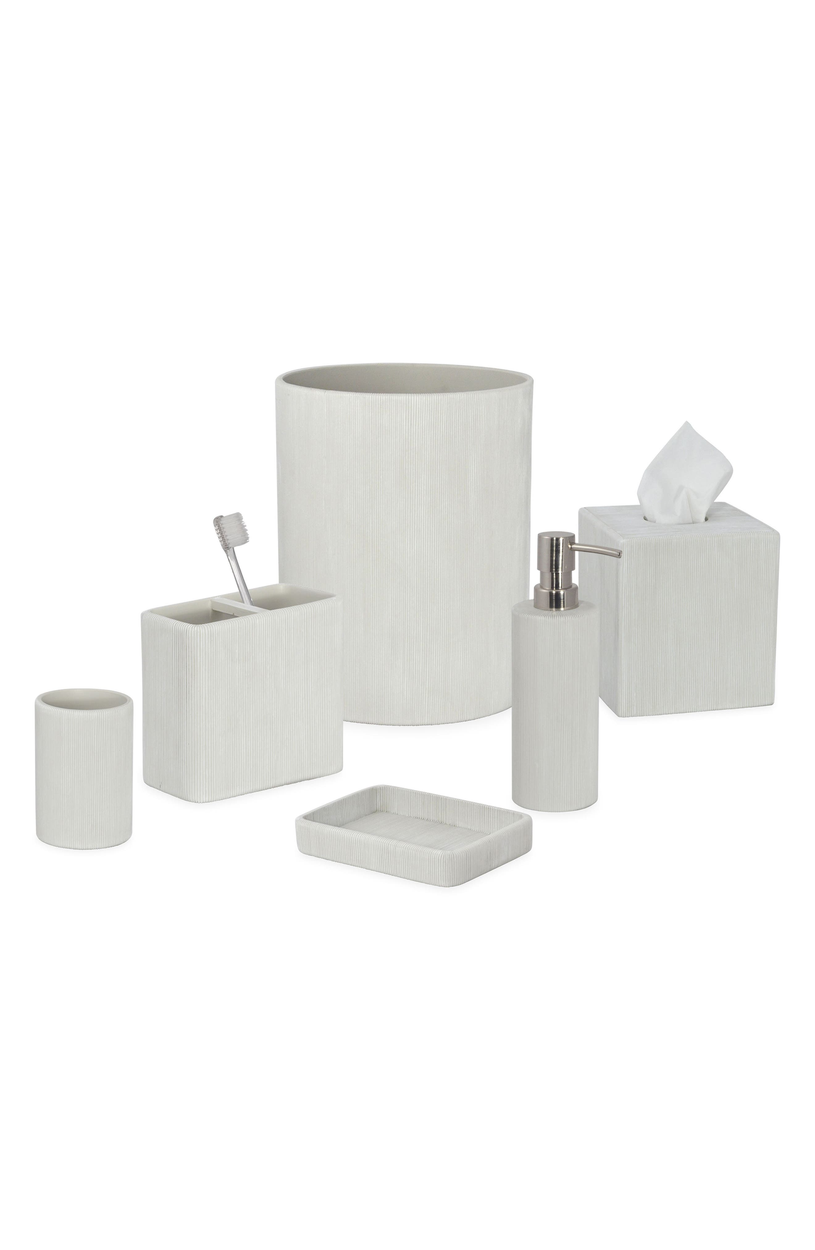 Fine Lines Ceramic Lotion Pump,                             Alternate thumbnail 2, color,                             White