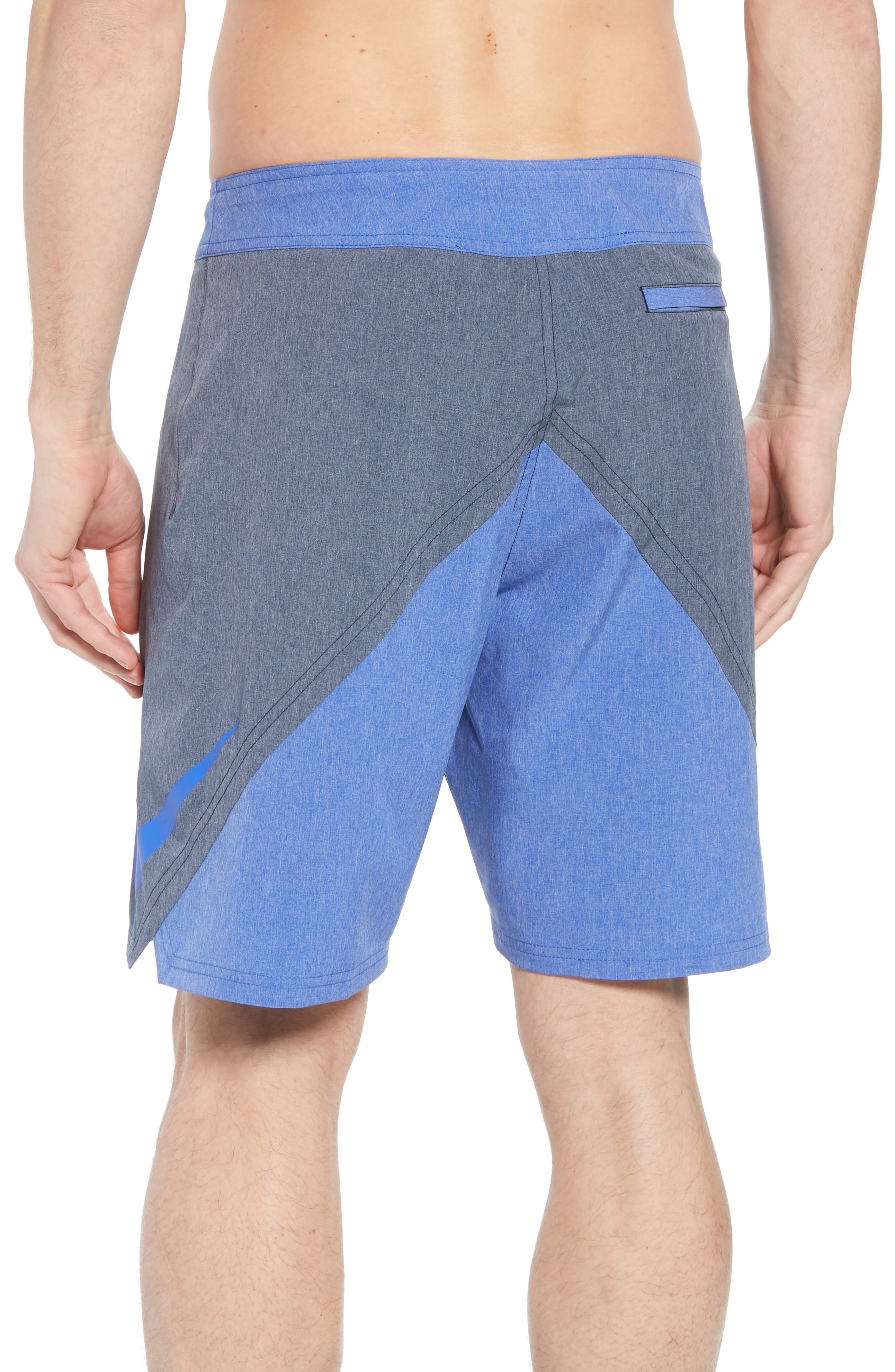 Vortex Board Shorts,                             Alternate thumbnail 3, color,                             Obsidian