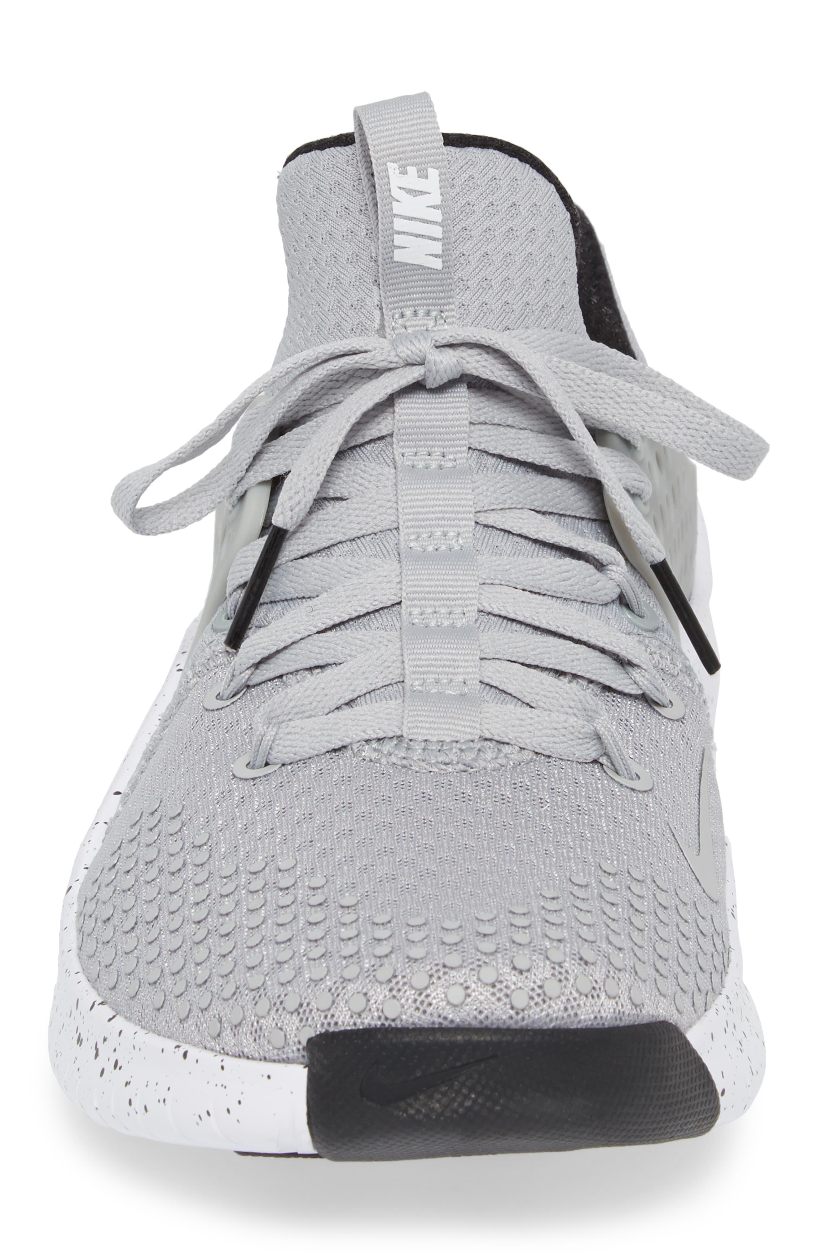 Free TR V8 Training Shoe,                             Alternate thumbnail 4, color,                             Matte Silver/ Black