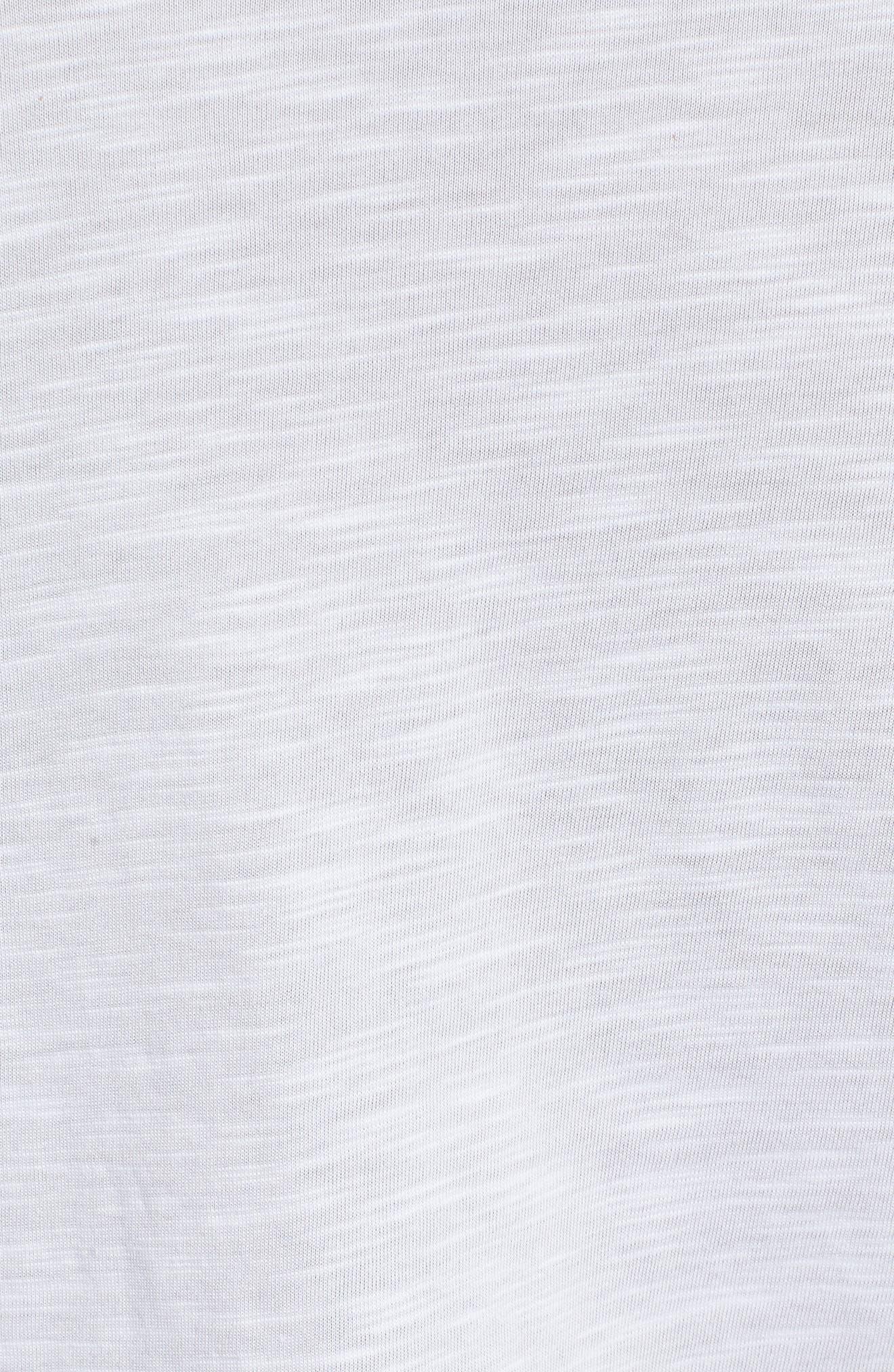 Dry Just Don't Quit T-Shirt,                             Alternate thumbnail 5, color,                             White/ Htr/ Black