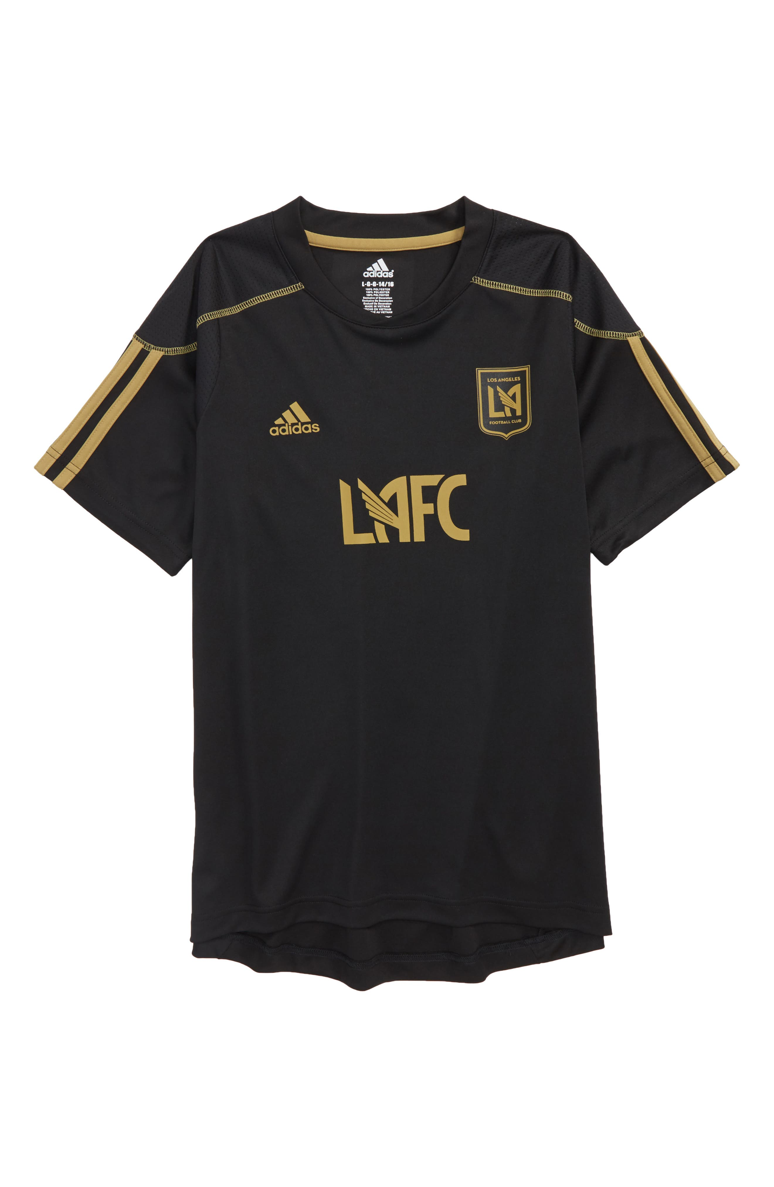 MLS Los Angeles FC Primary Logo Graphic T-Shirt,                         Main,                         color, Black