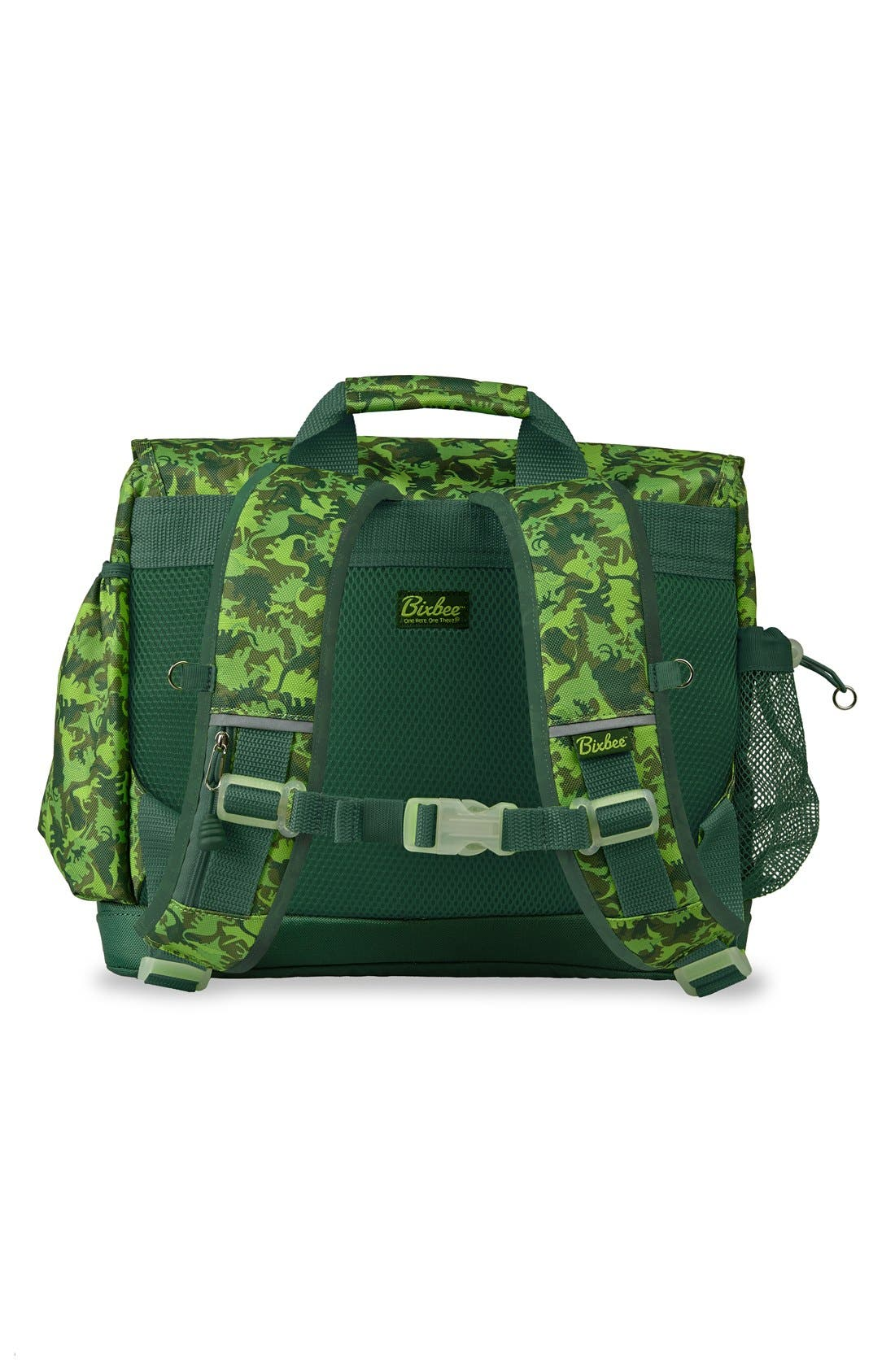 'Large Dino Camo' Water Resistant Backpack,                             Alternate thumbnail 2, color,                             Green