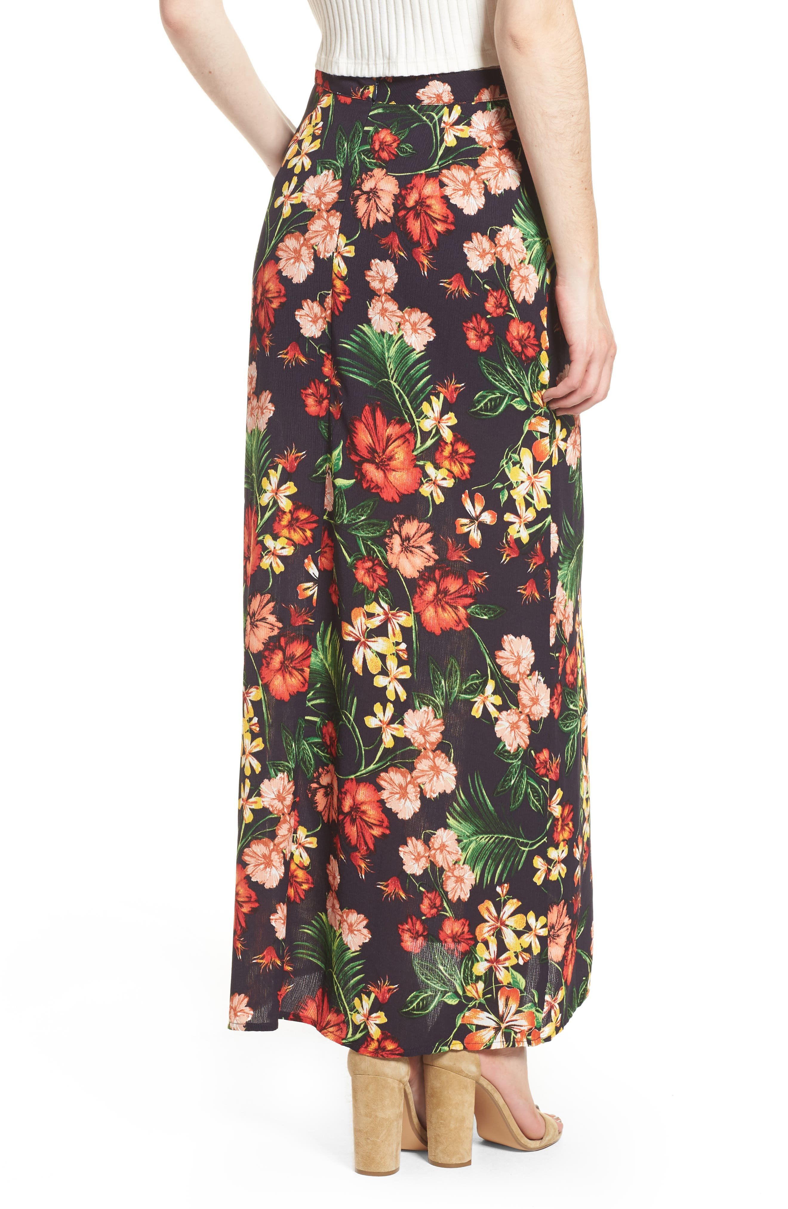 Alternate Image 3  - Floral Maxi Skirt