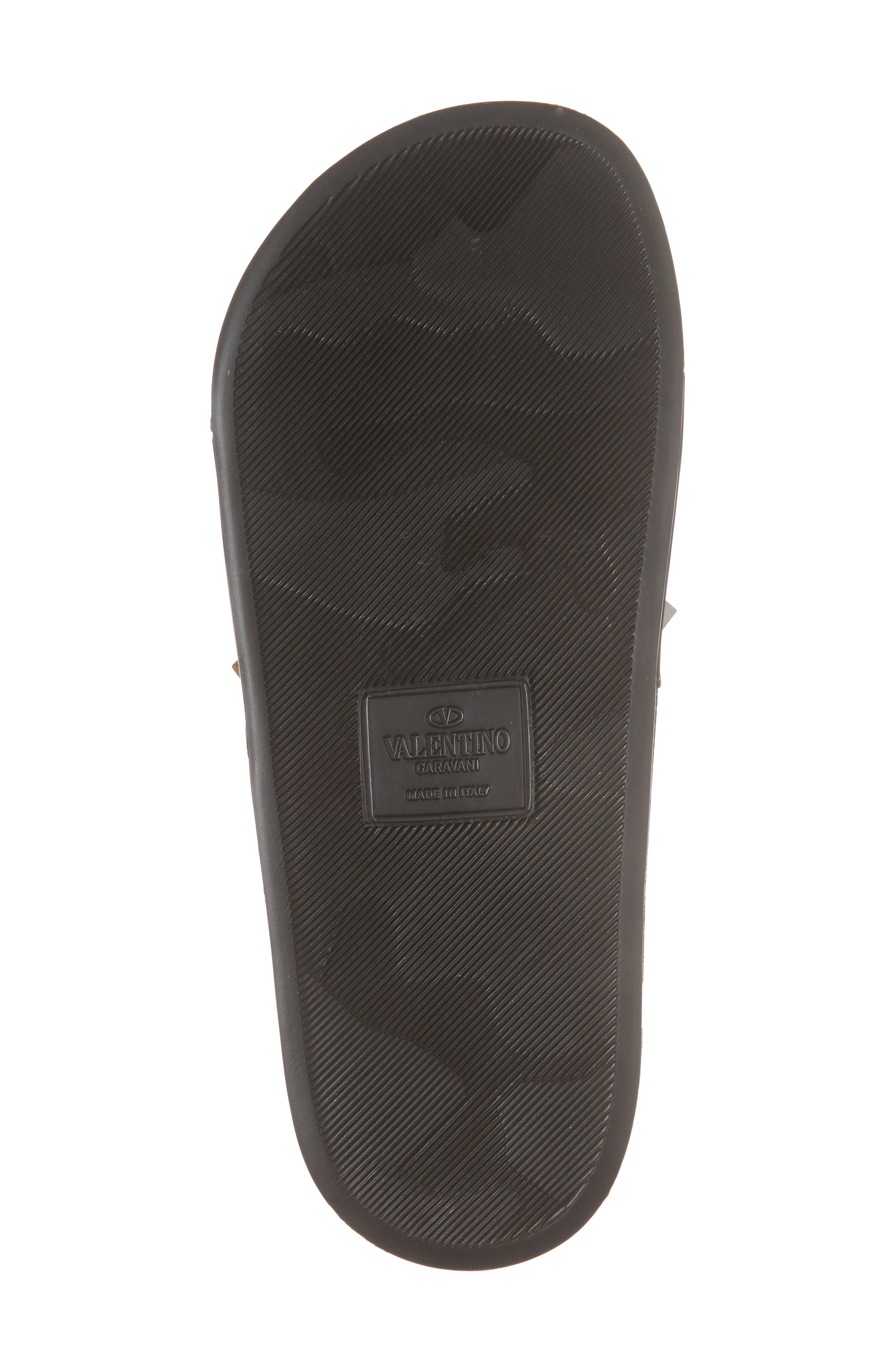 Surfer Slide Sandal,                             Alternate thumbnail 3, color,                             Black