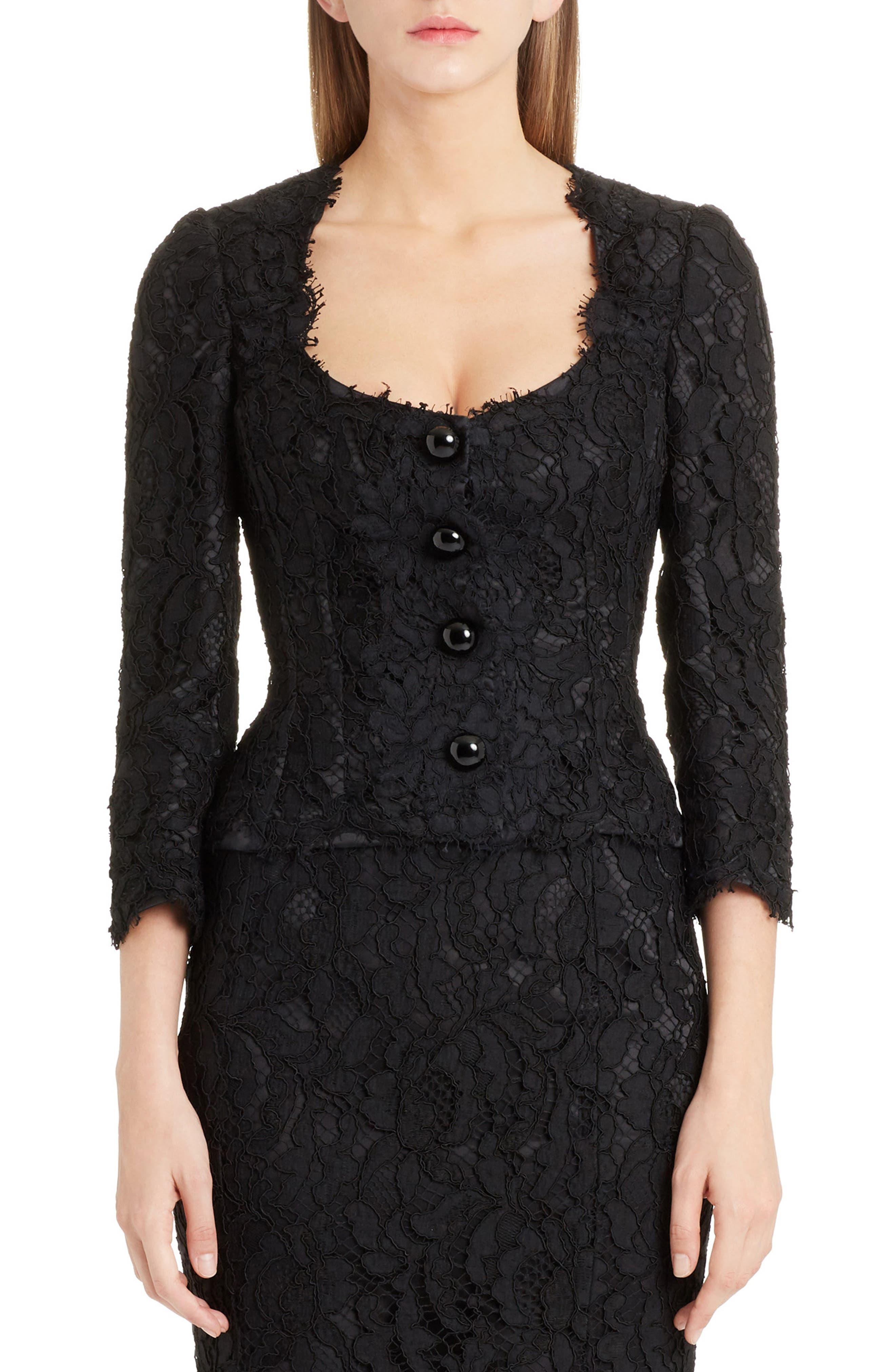 Dolce&Gabbana Lace Jacket