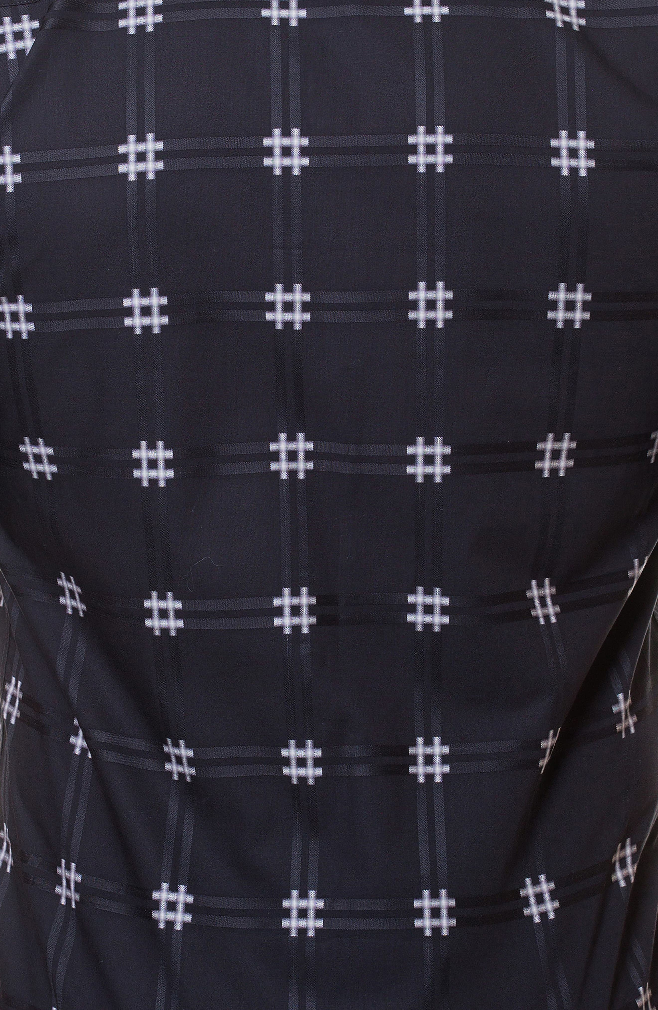 Fresh Pound Slim Fit Sport Shirt,                             Alternate thumbnail 3, color,                             Black