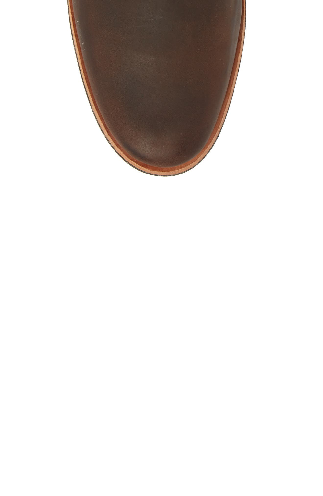 Wodehouse History Chukka Boot,                             Alternate thumbnail 5, color,                             Brown Leather