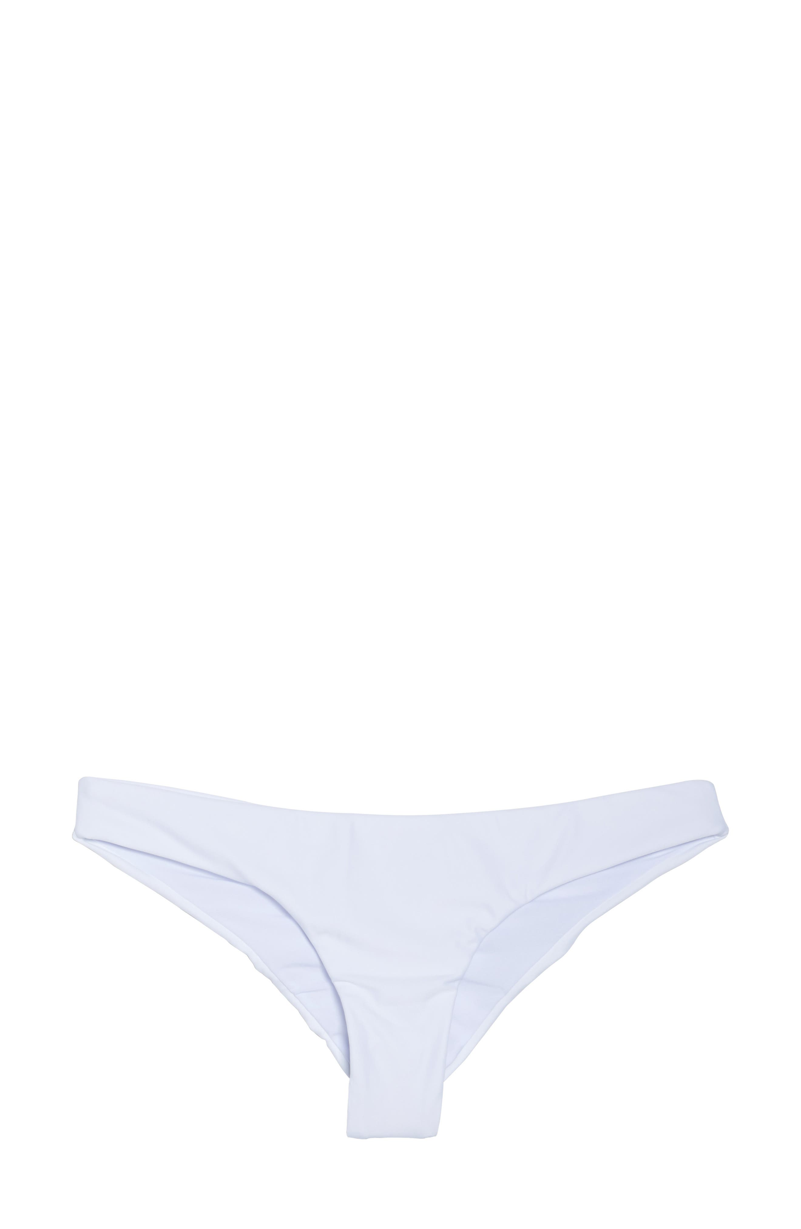 Ruched Bikini Bottoms,                             Alternate thumbnail 9, color,                             Water Lily