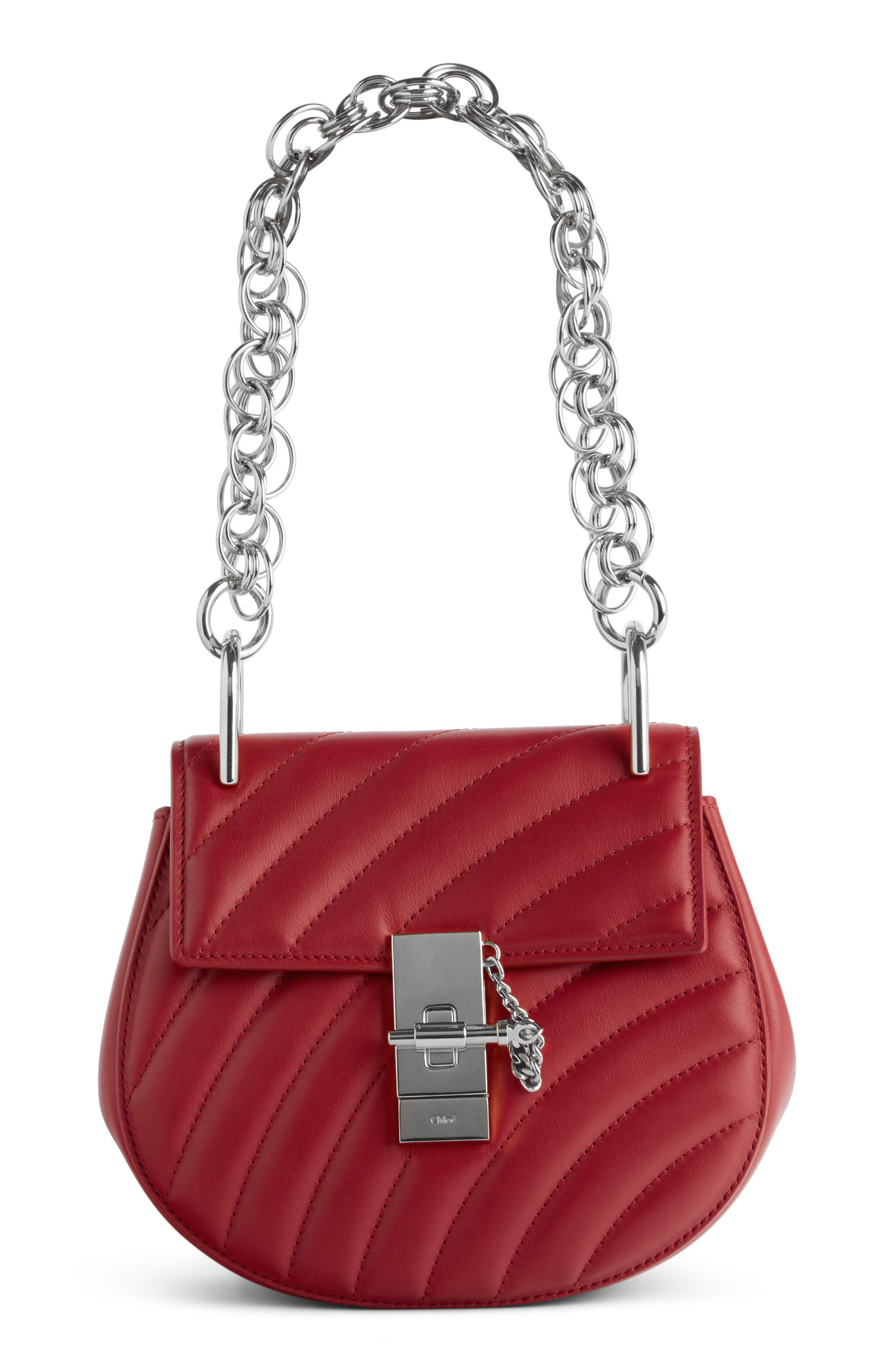 Chloé Mini Drew Bijoux Leather Shoulder Bag