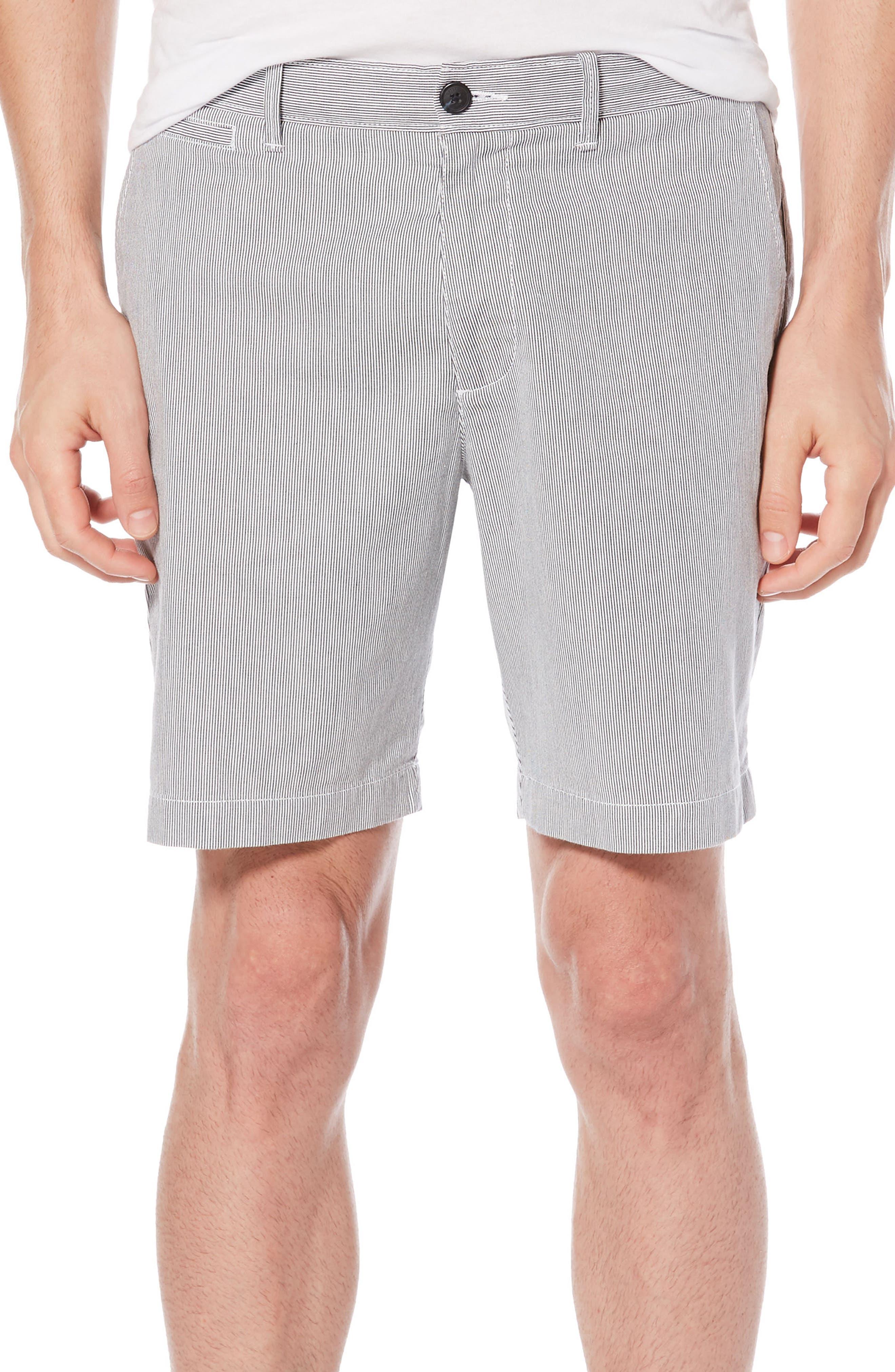 P55 Corded Stripe Shorts,                         Main,                         color, Dark Sapphire