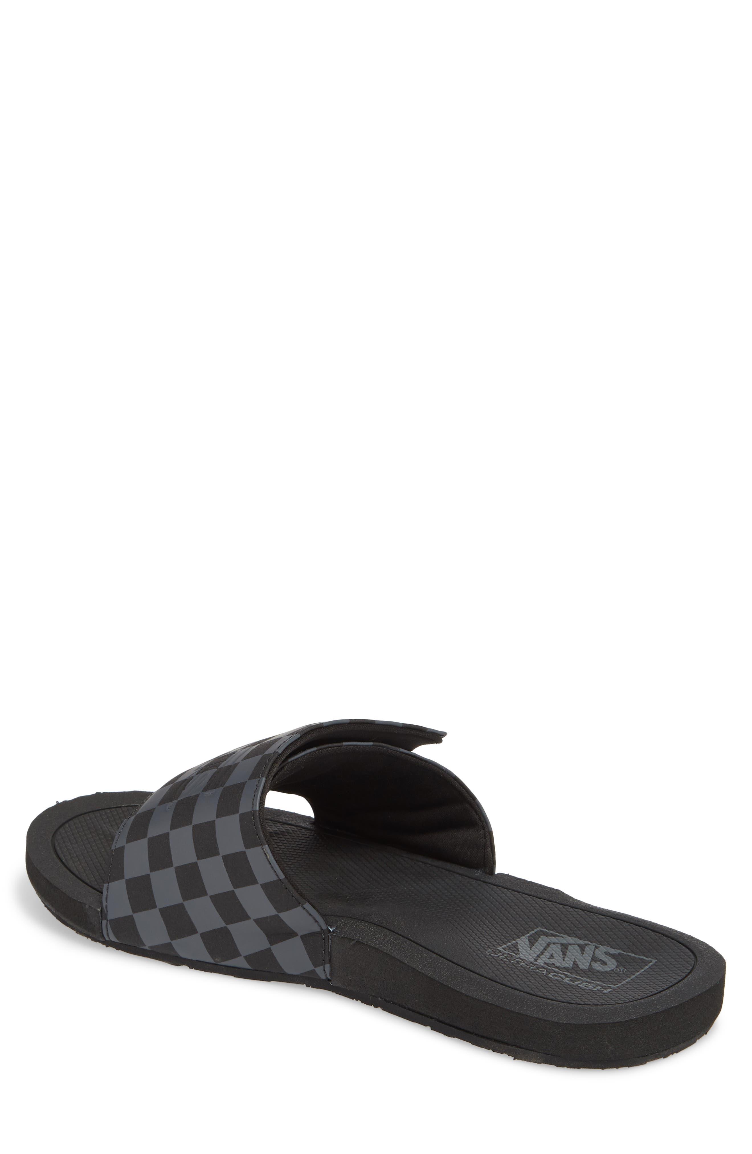 Nexpa Slide Sandal,                             Alternate thumbnail 2, color,                             Black/ Asphalt
