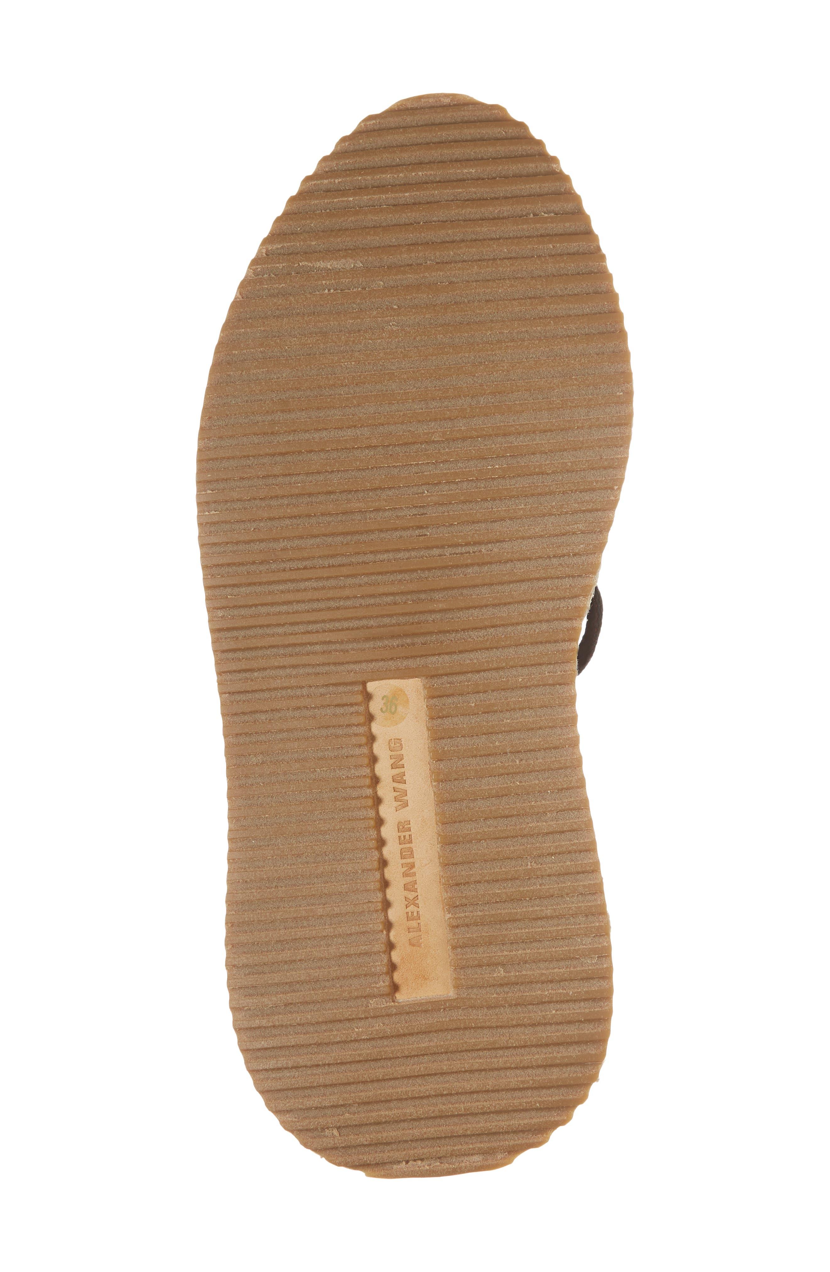 Dakota Espadrille Sock Sneaker,                             Alternate thumbnail 6, color,                             Black/ White/ Grey