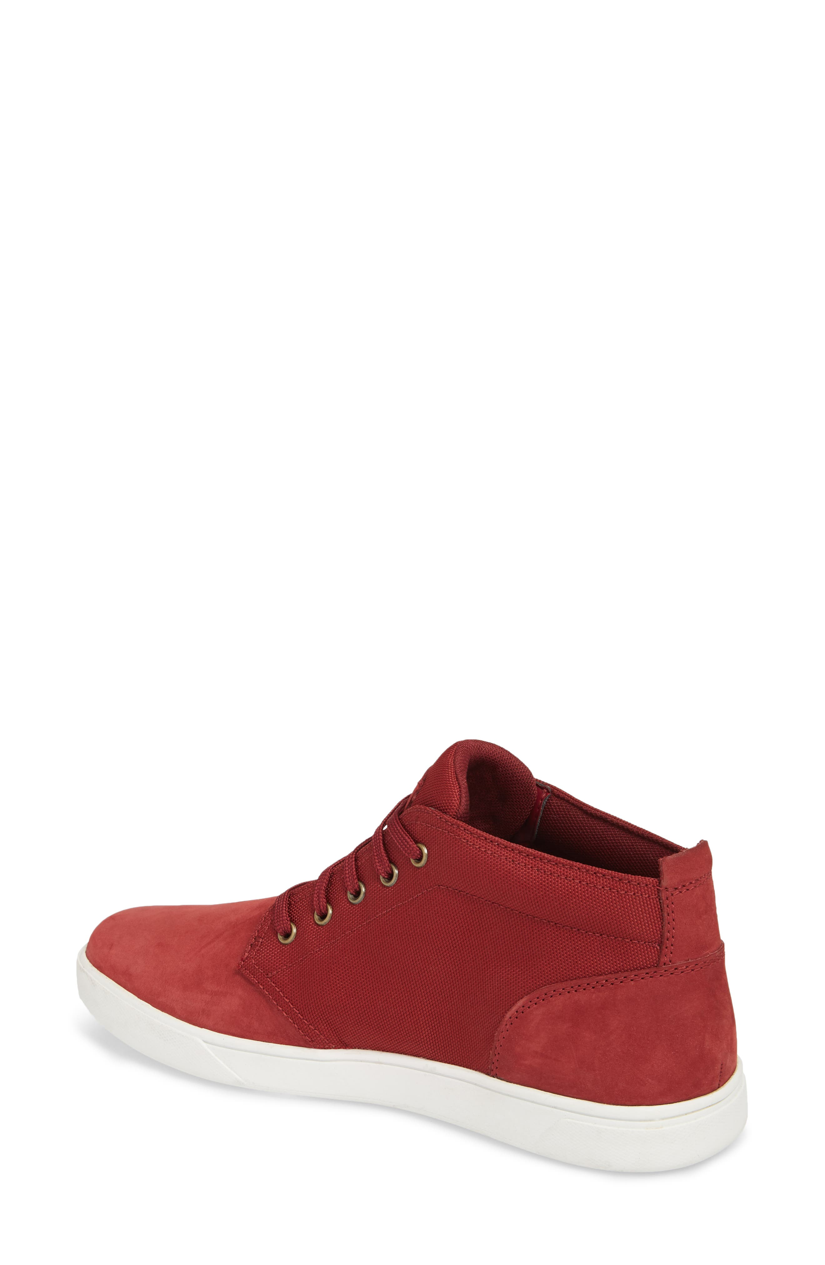 Earthkeepers<sup>™</sup> 'Groveton' Chukka Sneaker,                             Alternate thumbnail 2, color,                             Pomegranate Nubuck