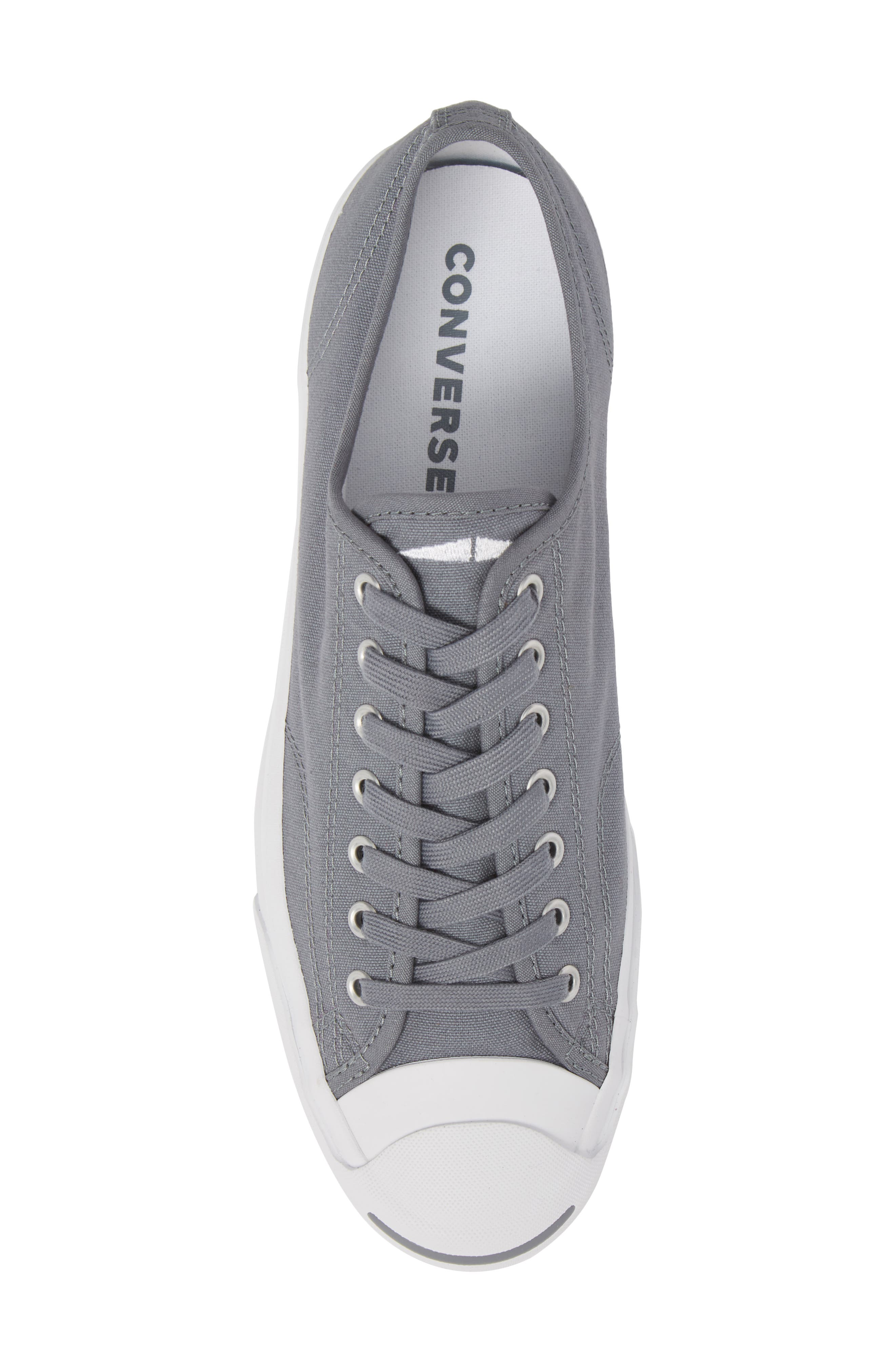 'Jack Purcell' Sneaker,                             Alternate thumbnail 5, color,                             Cool Grey Canvas