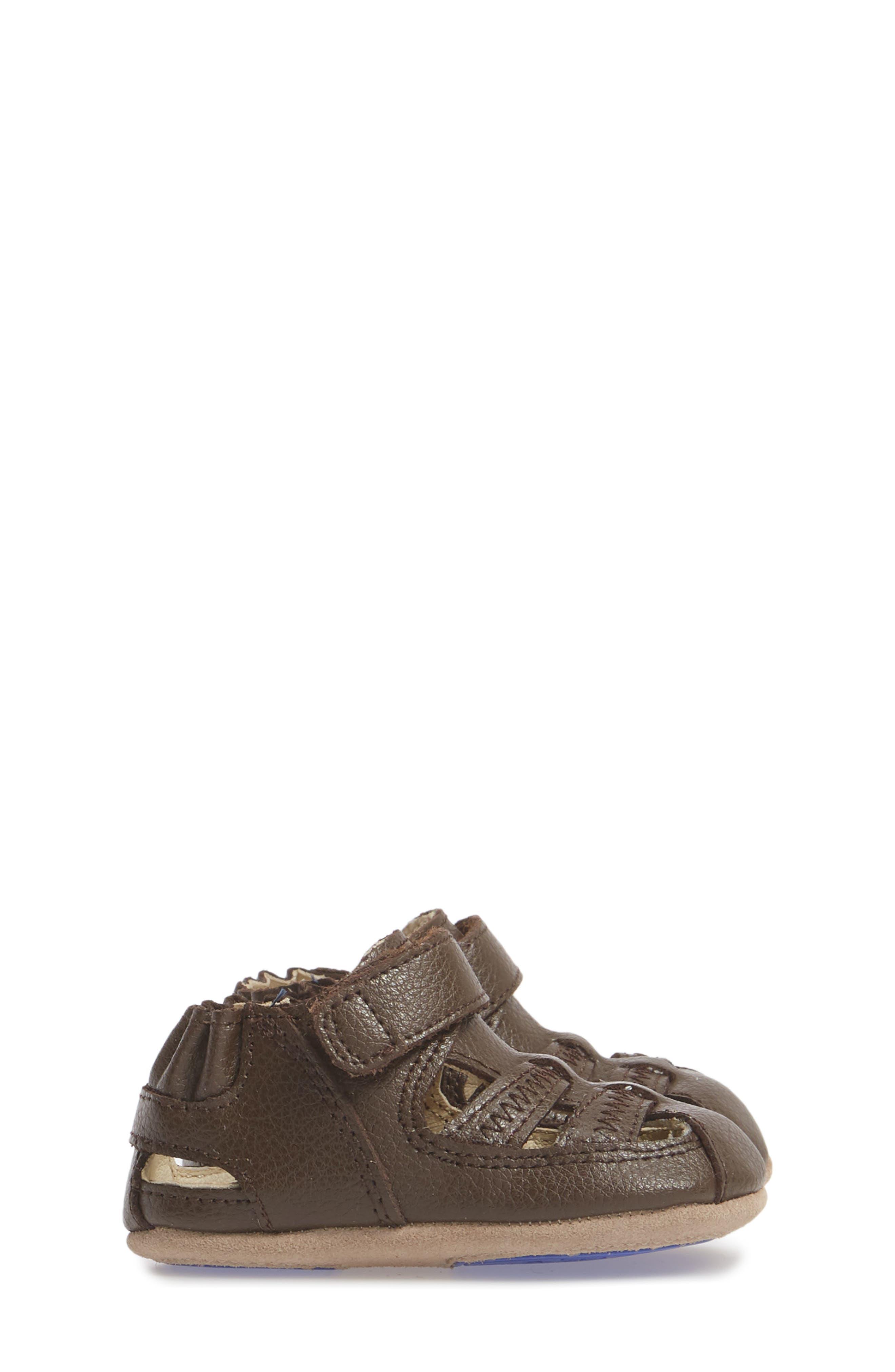 Sandal,                             Alternate thumbnail 4, color,                             Brown