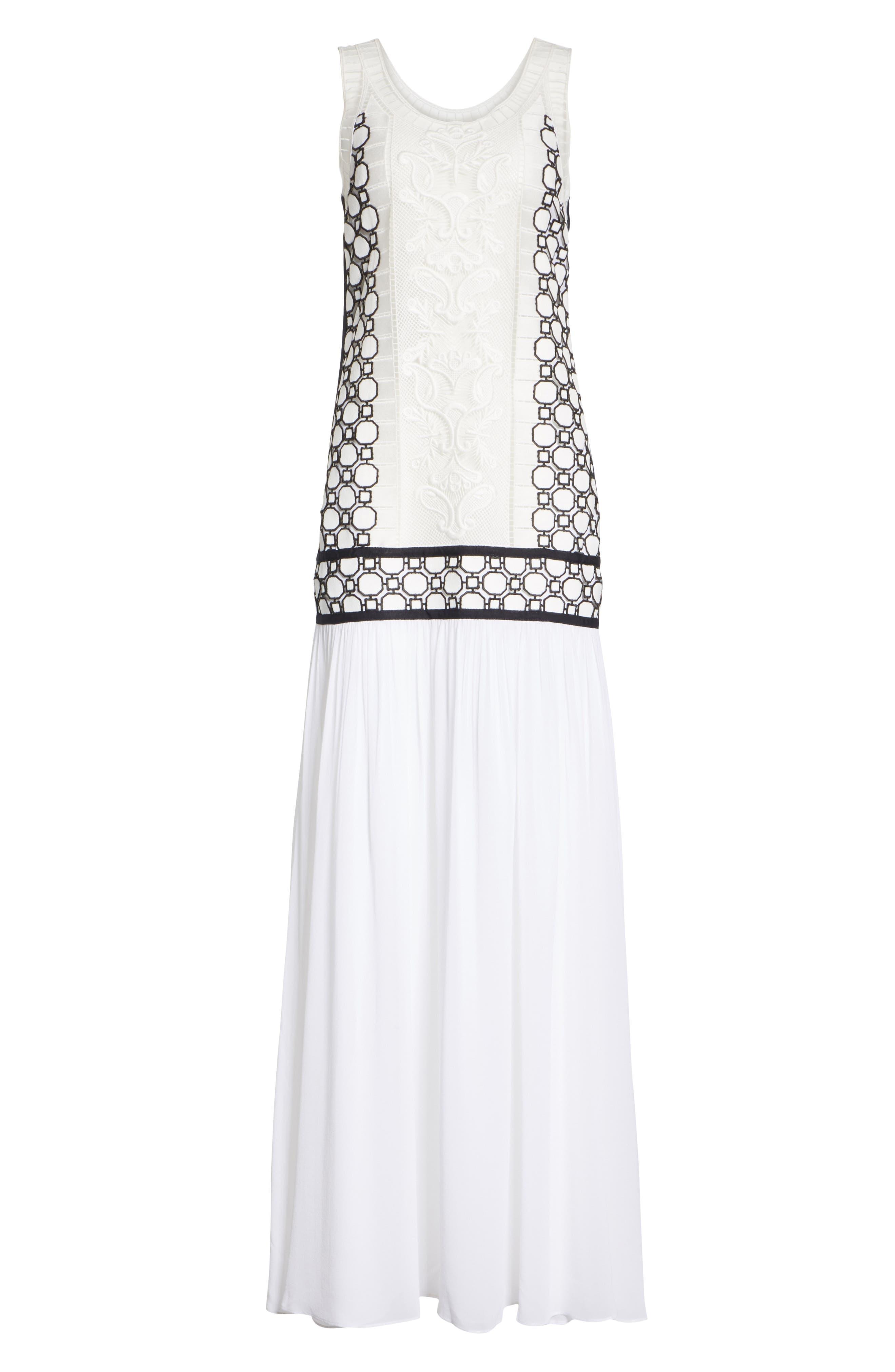 Helena Dress,                             Alternate thumbnail 5, color,                             White