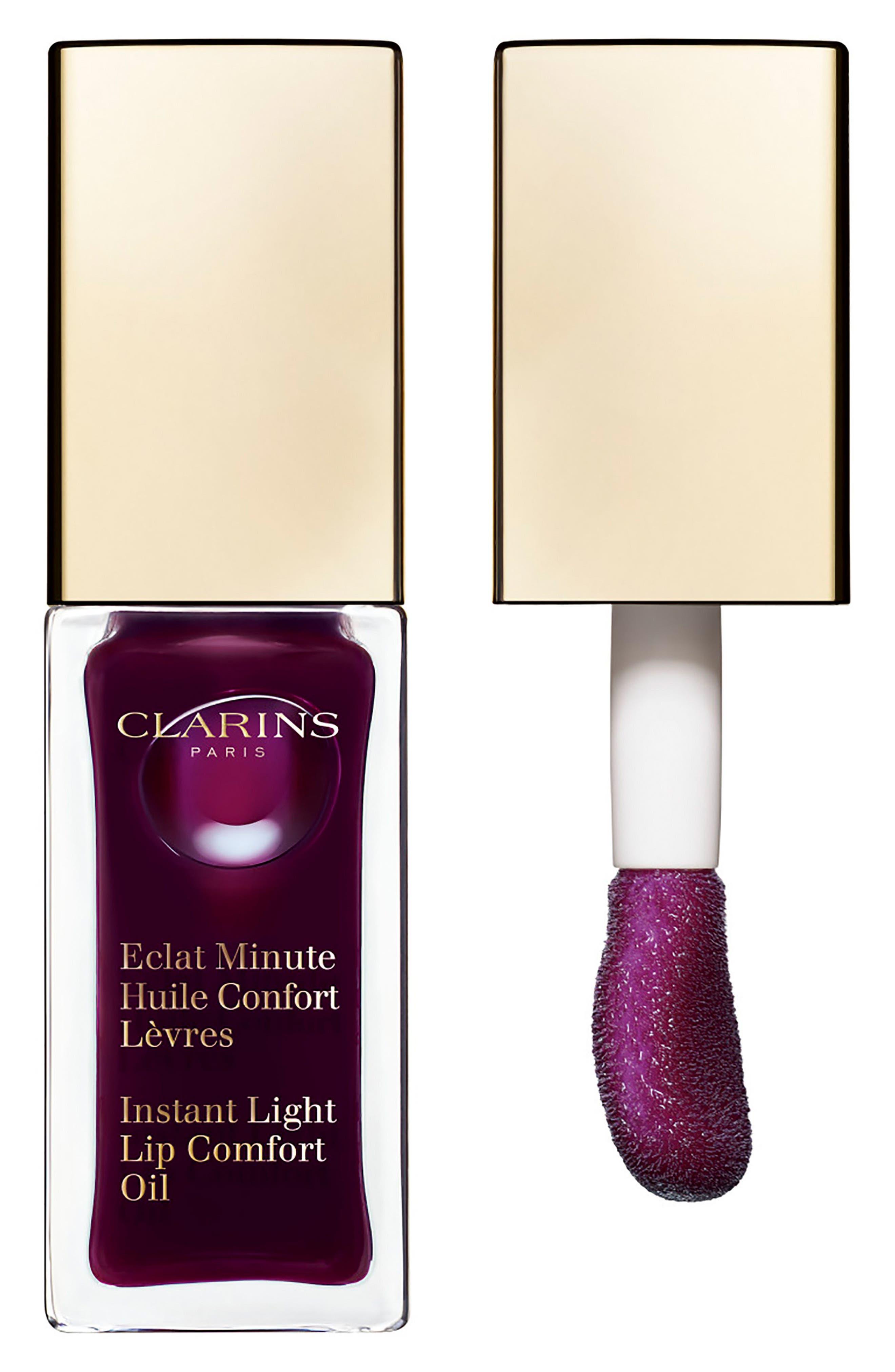 Instant Light Lip Comfort Oil,                         Main,                         color, 08 Plum