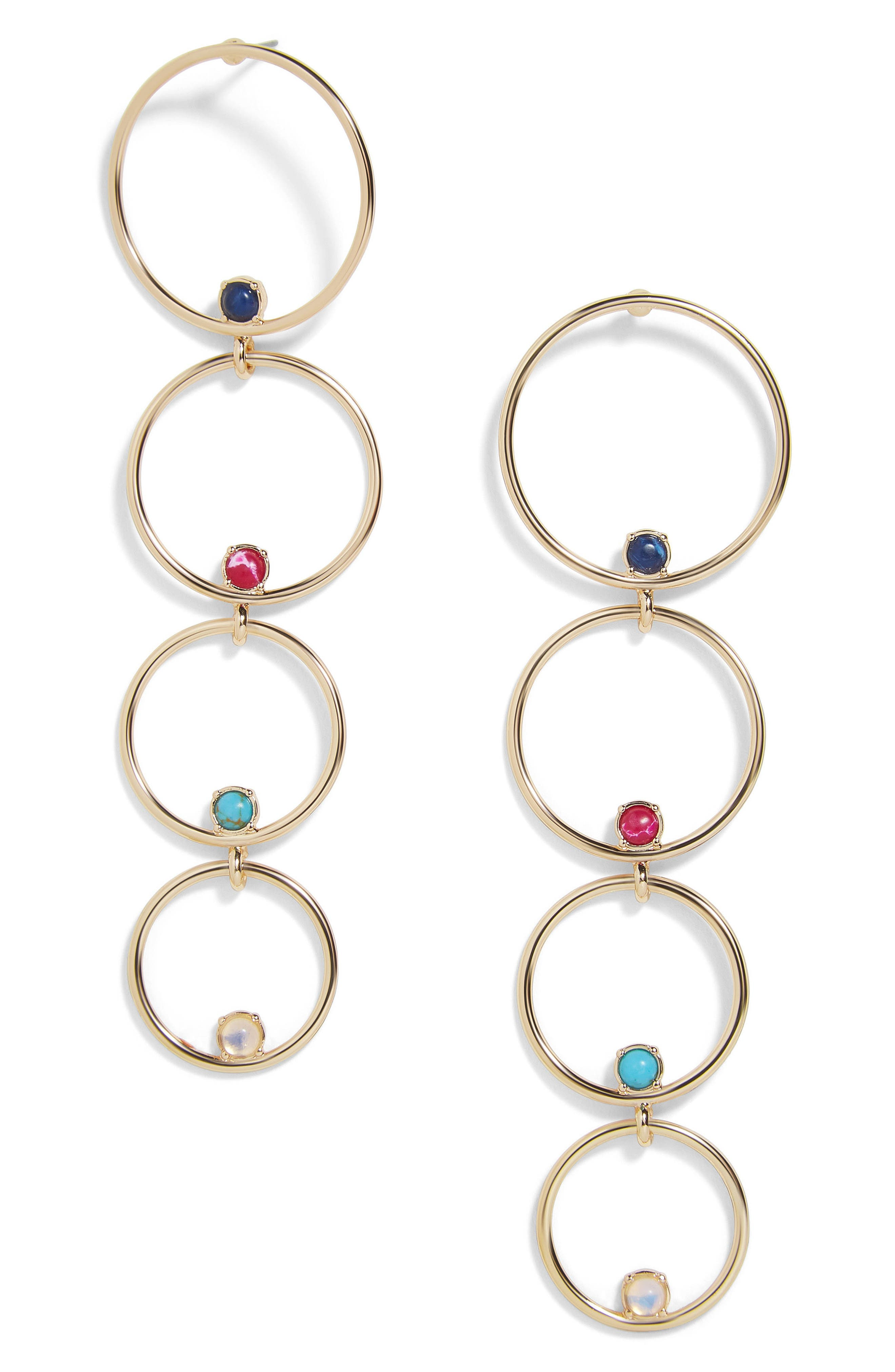 BaubleBar Lucienne Hoop Earrings