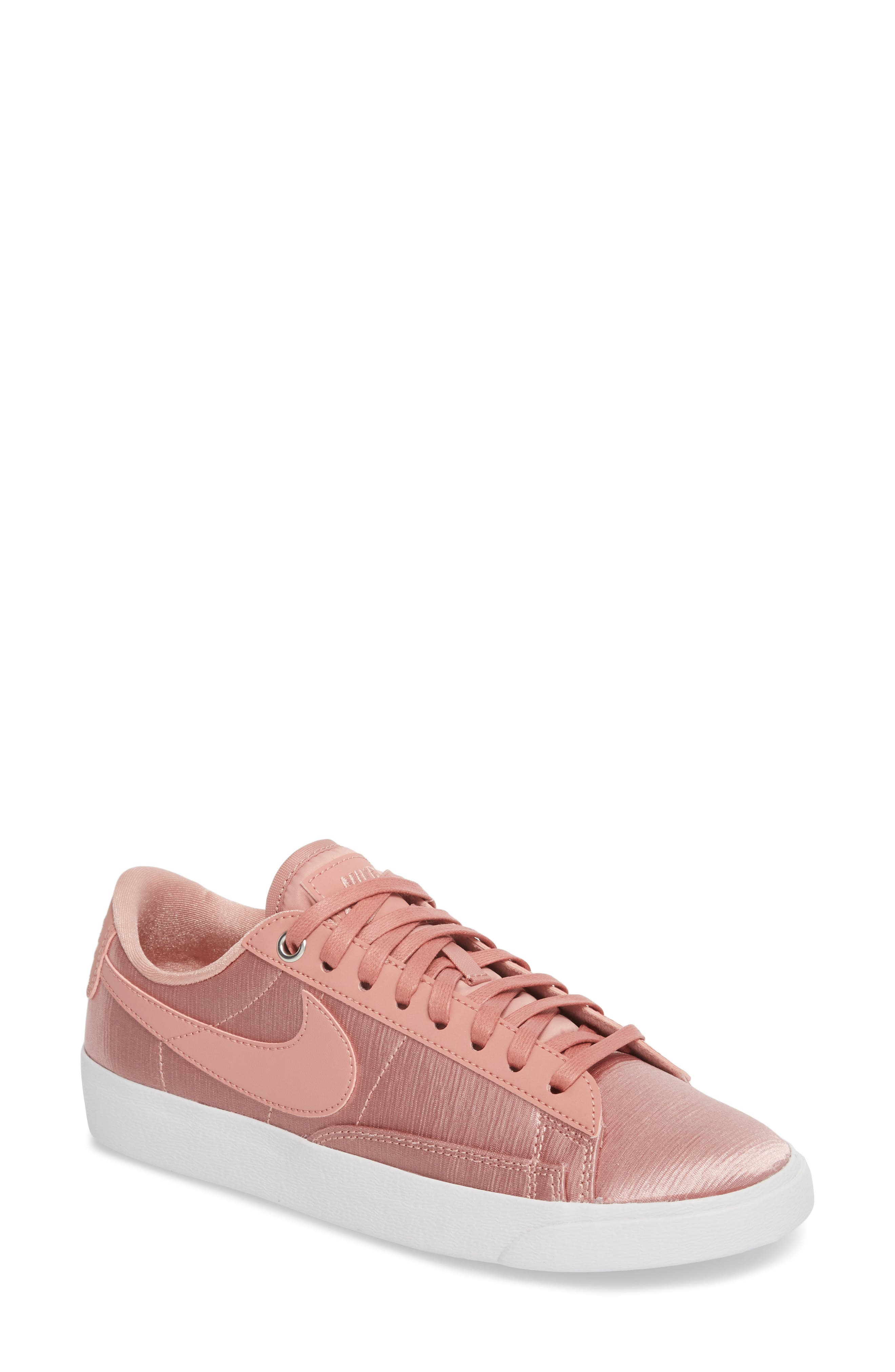 Blazer Low SE Sneaker,                             Main thumbnail 1, color,                             Rust Pink/ Rust Pink