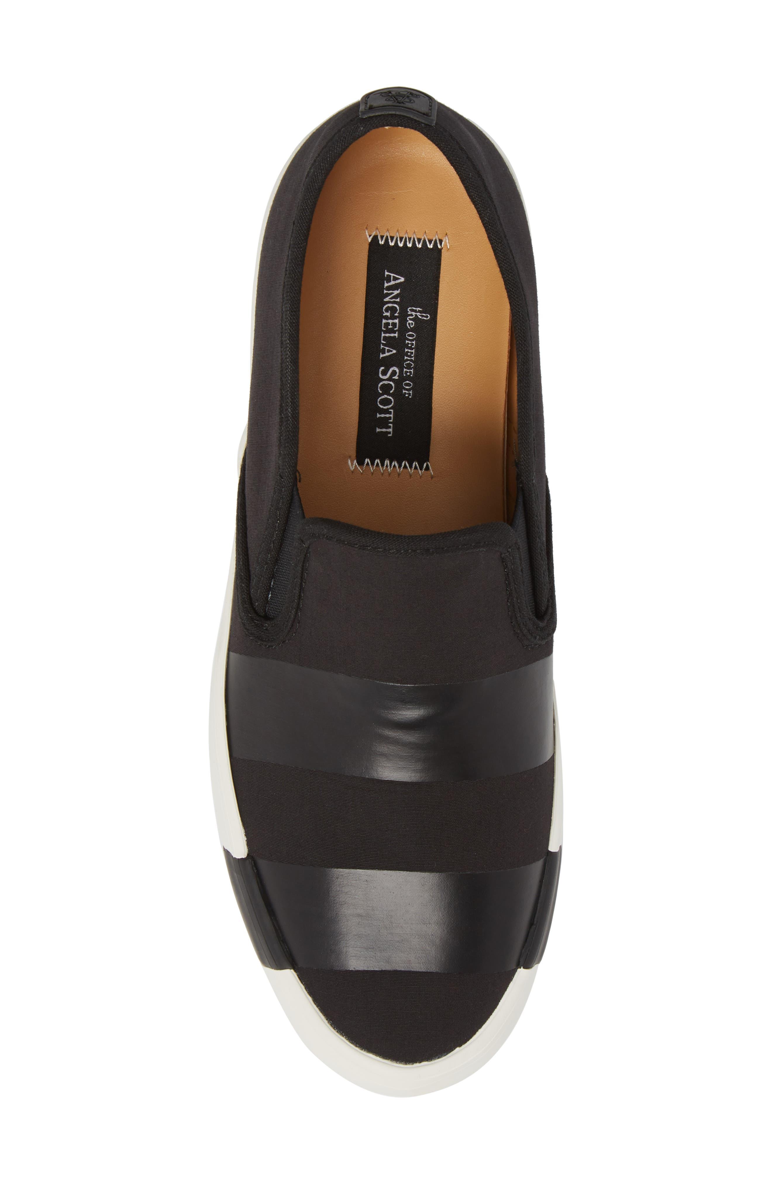 The Hammonds Slip-On Sneaker,                             Alternate thumbnail 5, color,                             Black On Black