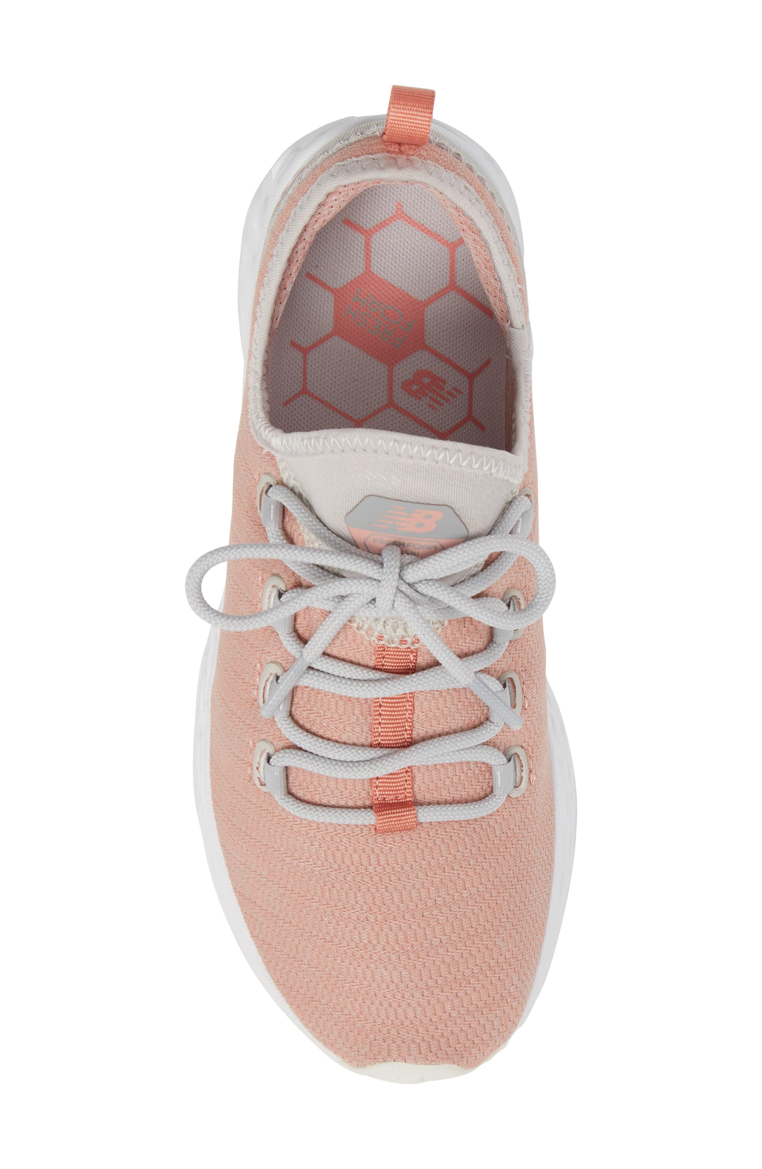 Fresh Foam Arishi Running Shoe,                             Alternate thumbnail 5, color,                             Dusted Peach