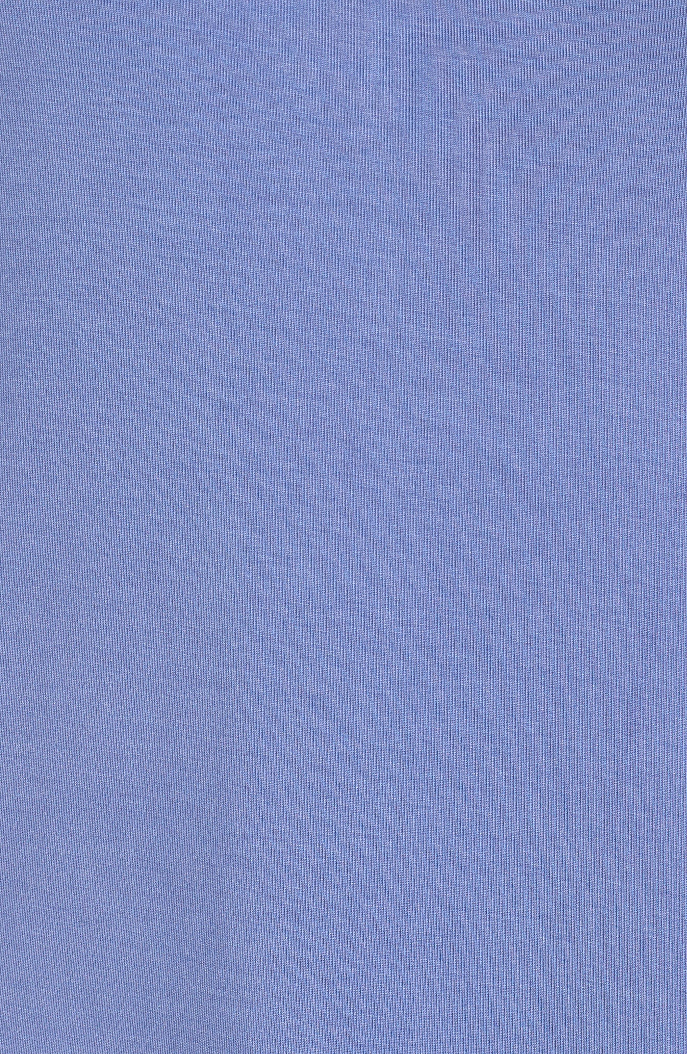 Dolman Sleeve Nightshirt,                             Alternate thumbnail 5, color,                             Blue Denim