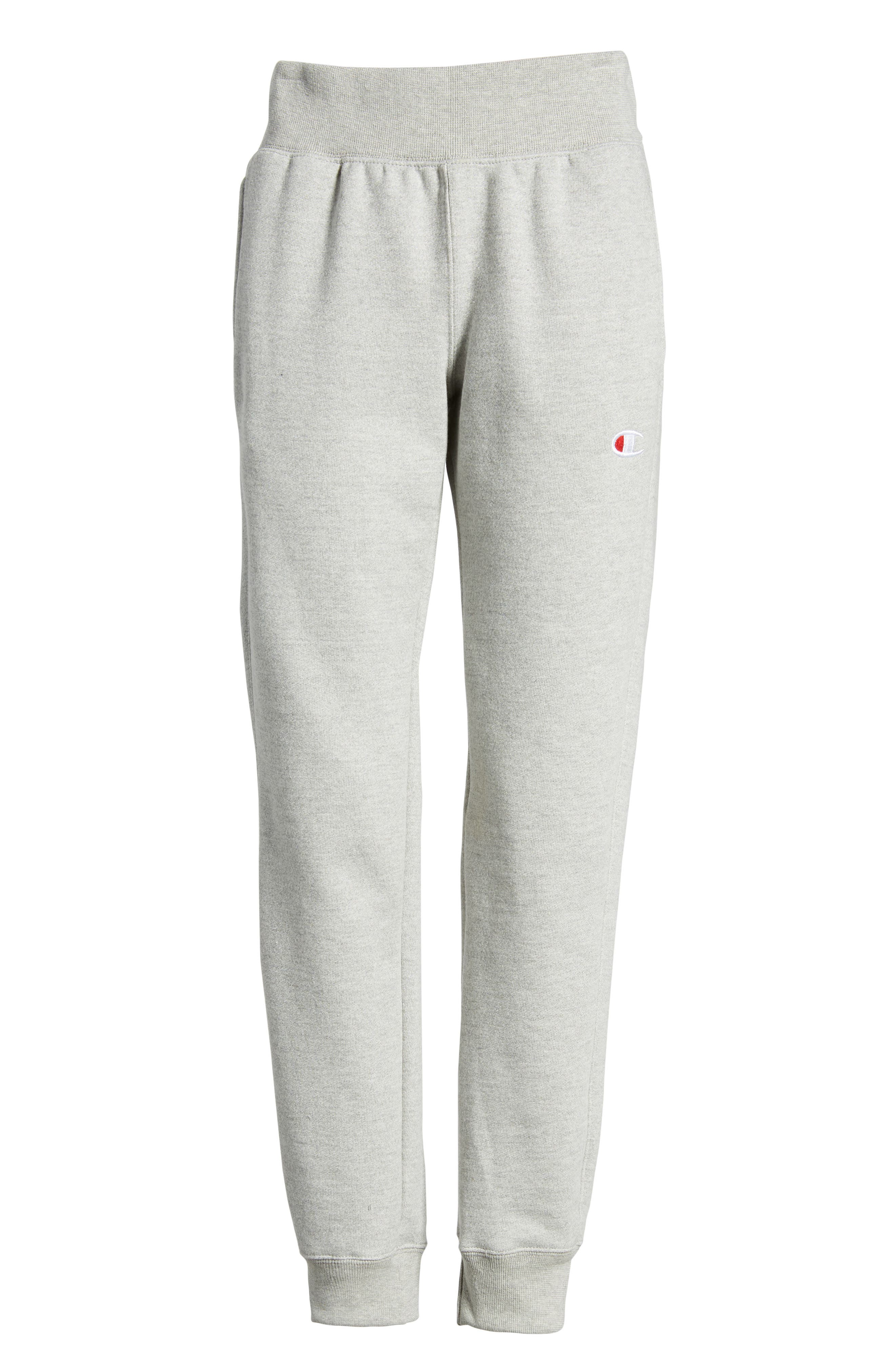 Reverse Weave Jogger Pants,                         Main,                         color, Oxford Grey