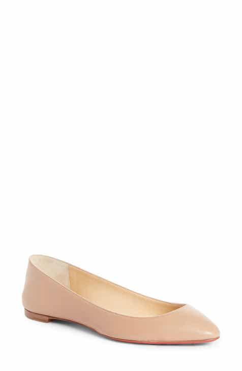 bb9186a334e Christian Louboutin Women s Flats Shoes