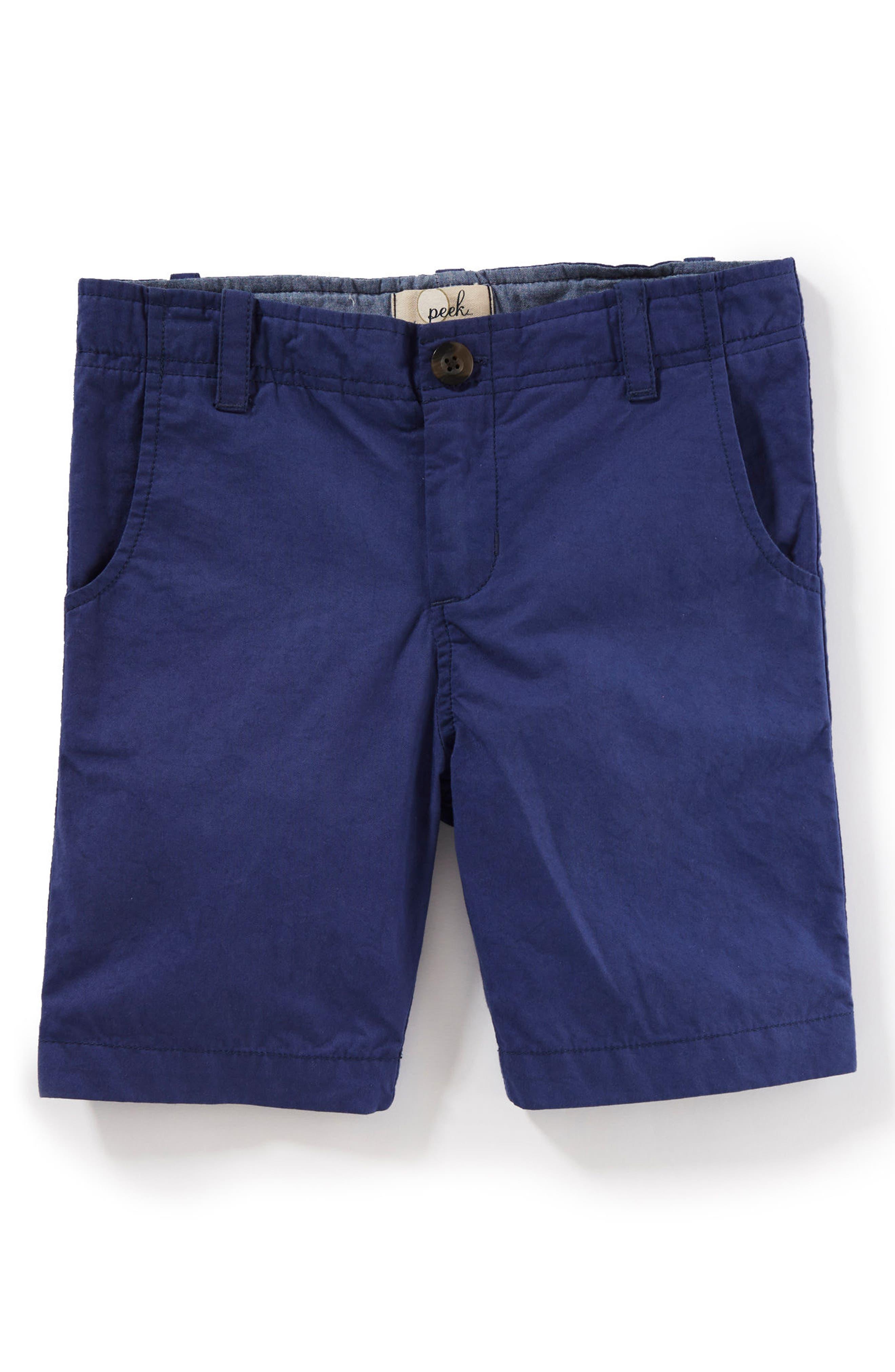 Hudson Shorts,                         Main,                         color, Blue