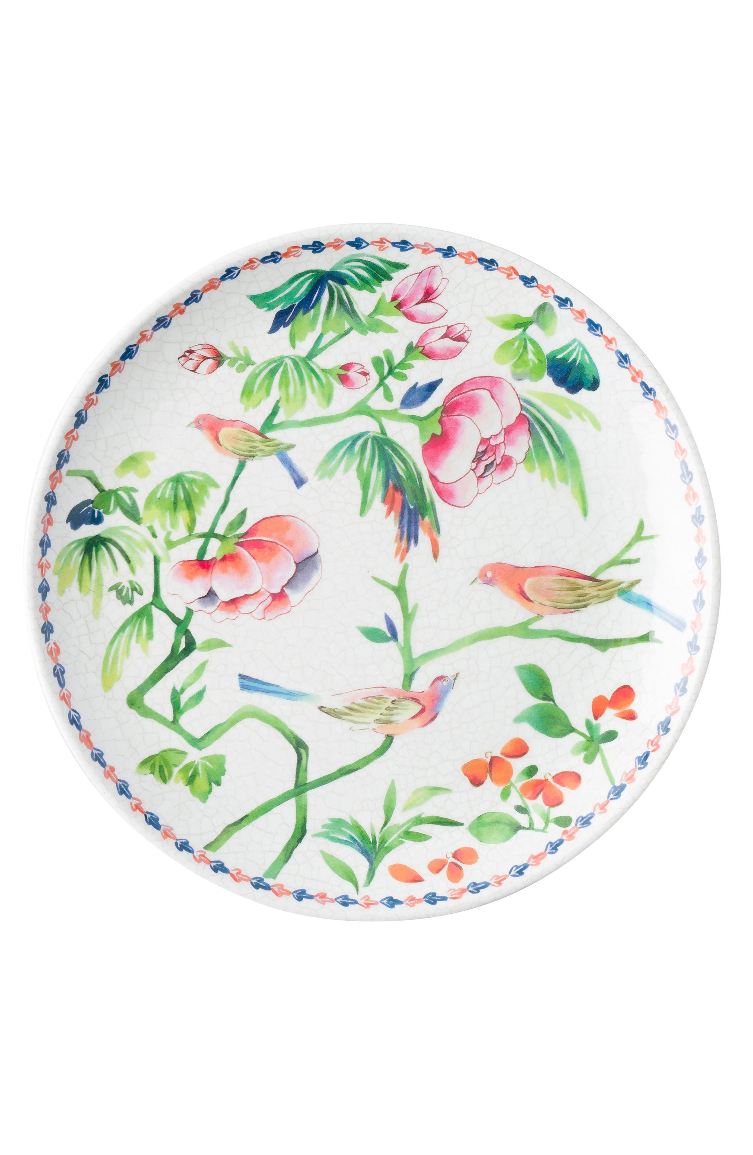Juliska Lalana Floral Melamine Dessert Plate