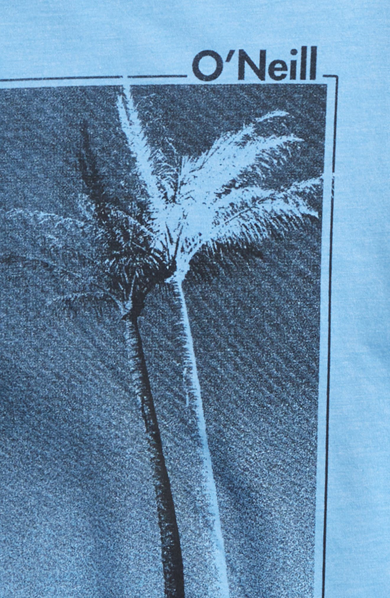 Treez T-Shirt,                             Alternate thumbnail 2, color,                             Light Blue Heather