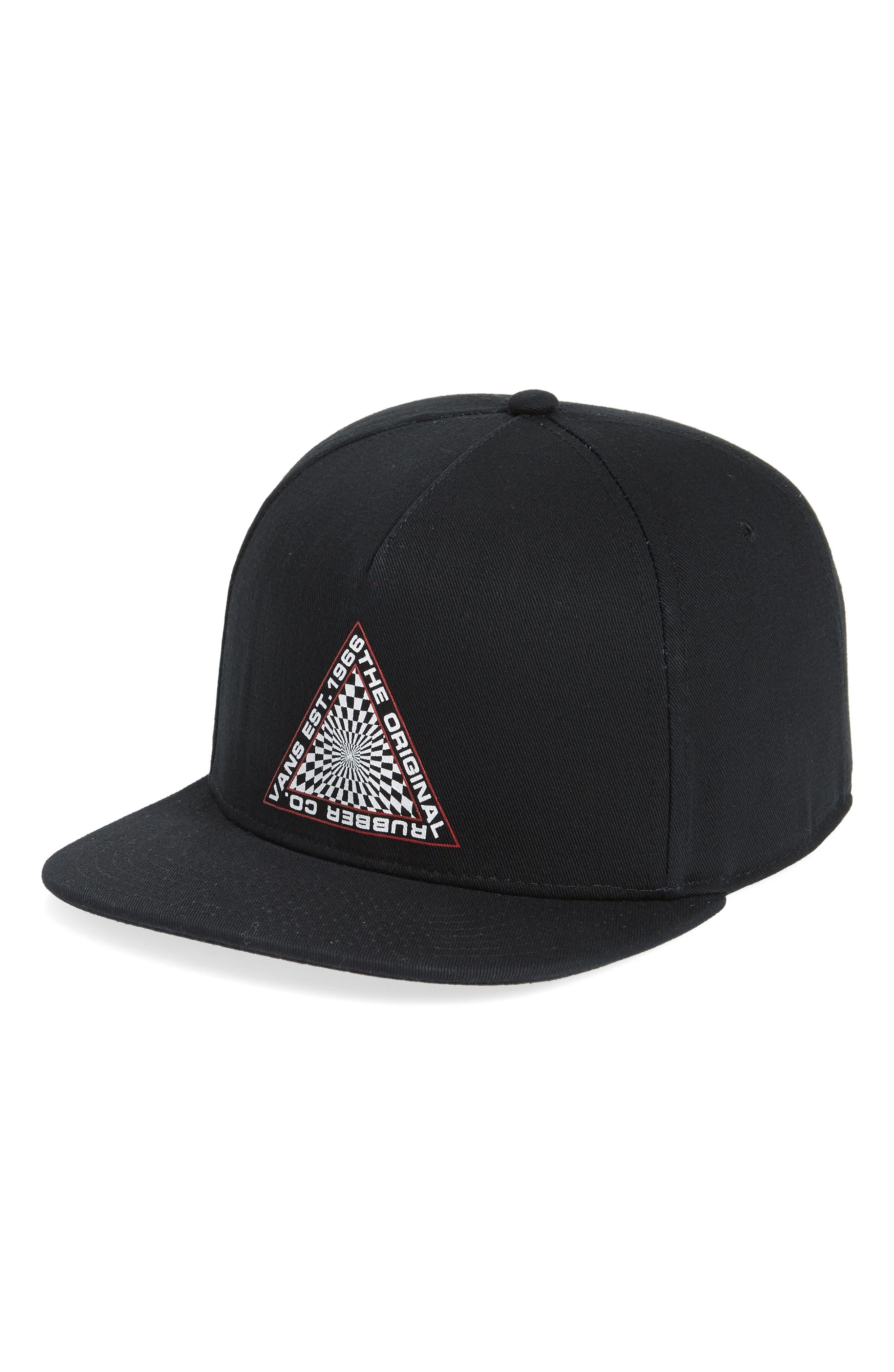 Brann Snapback Cap,                         Main,                         color, Black