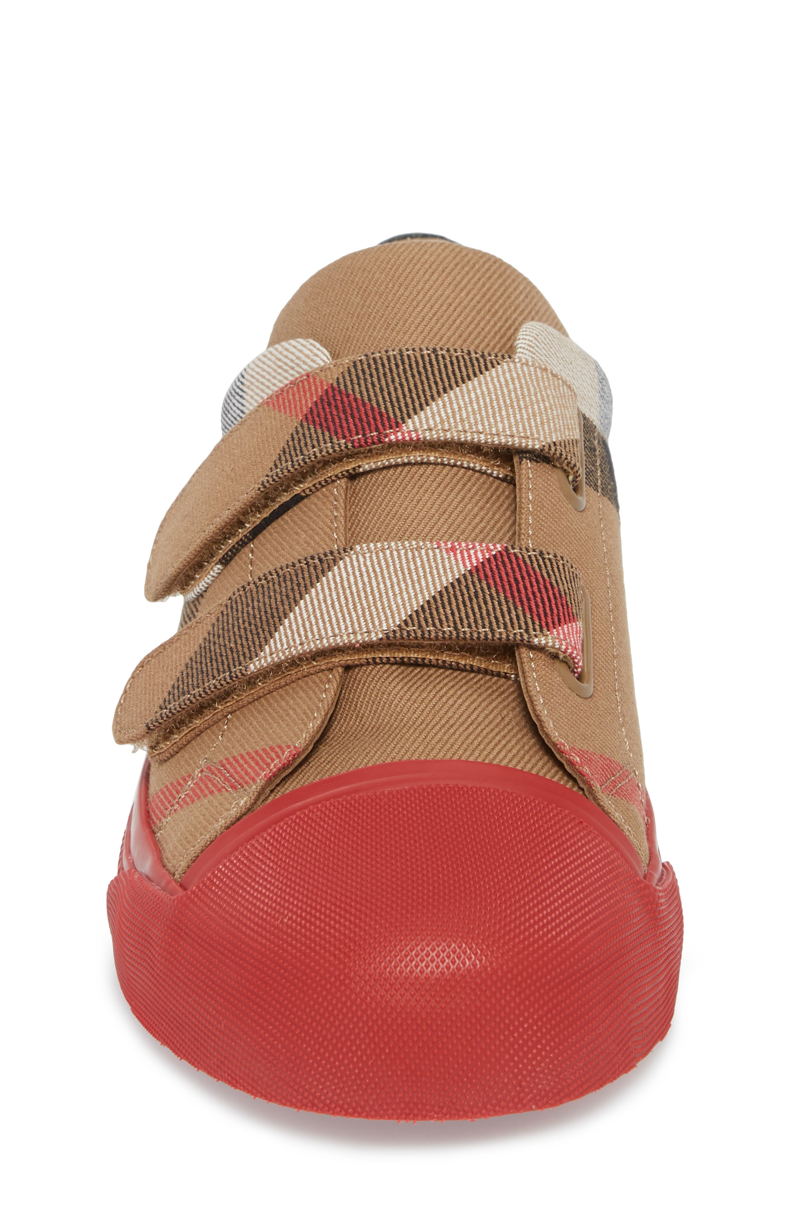 Belside Sneaker,                             Alternate thumbnail 4, color,                             Classic/ Parade Red