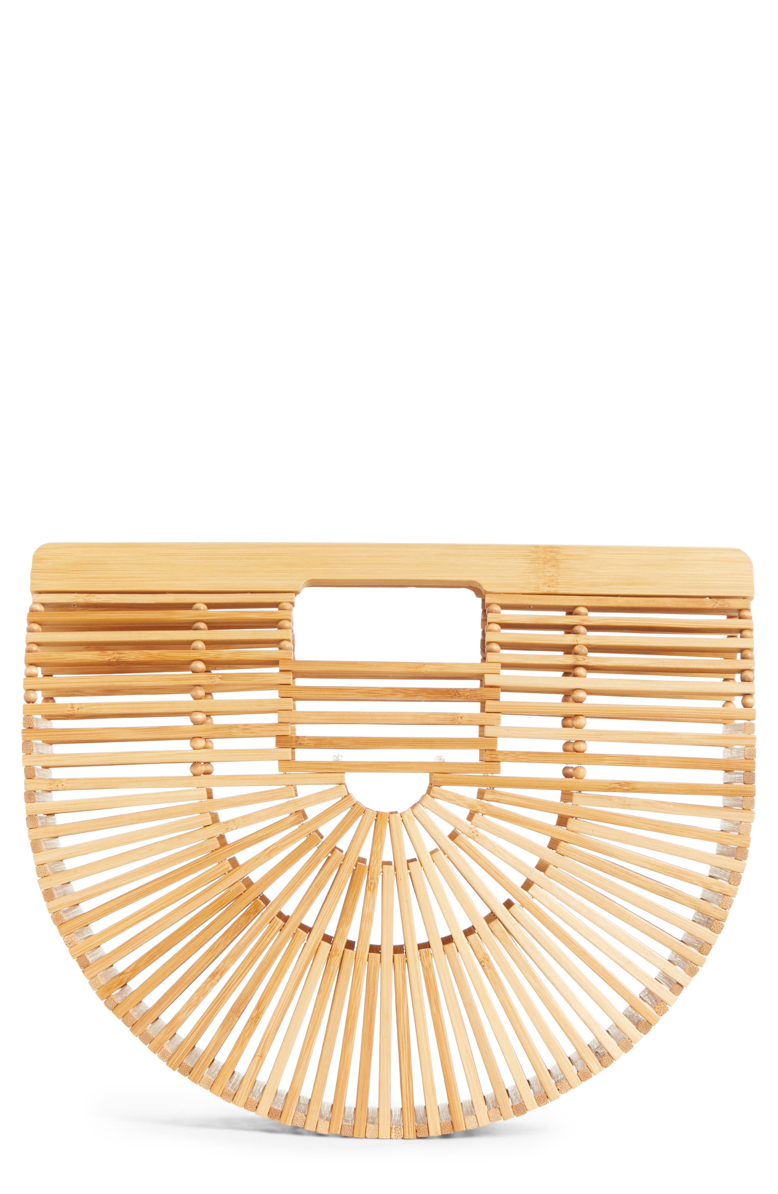 Small Ark Bamboo Handbag,                         Main,                         color, Bamboo