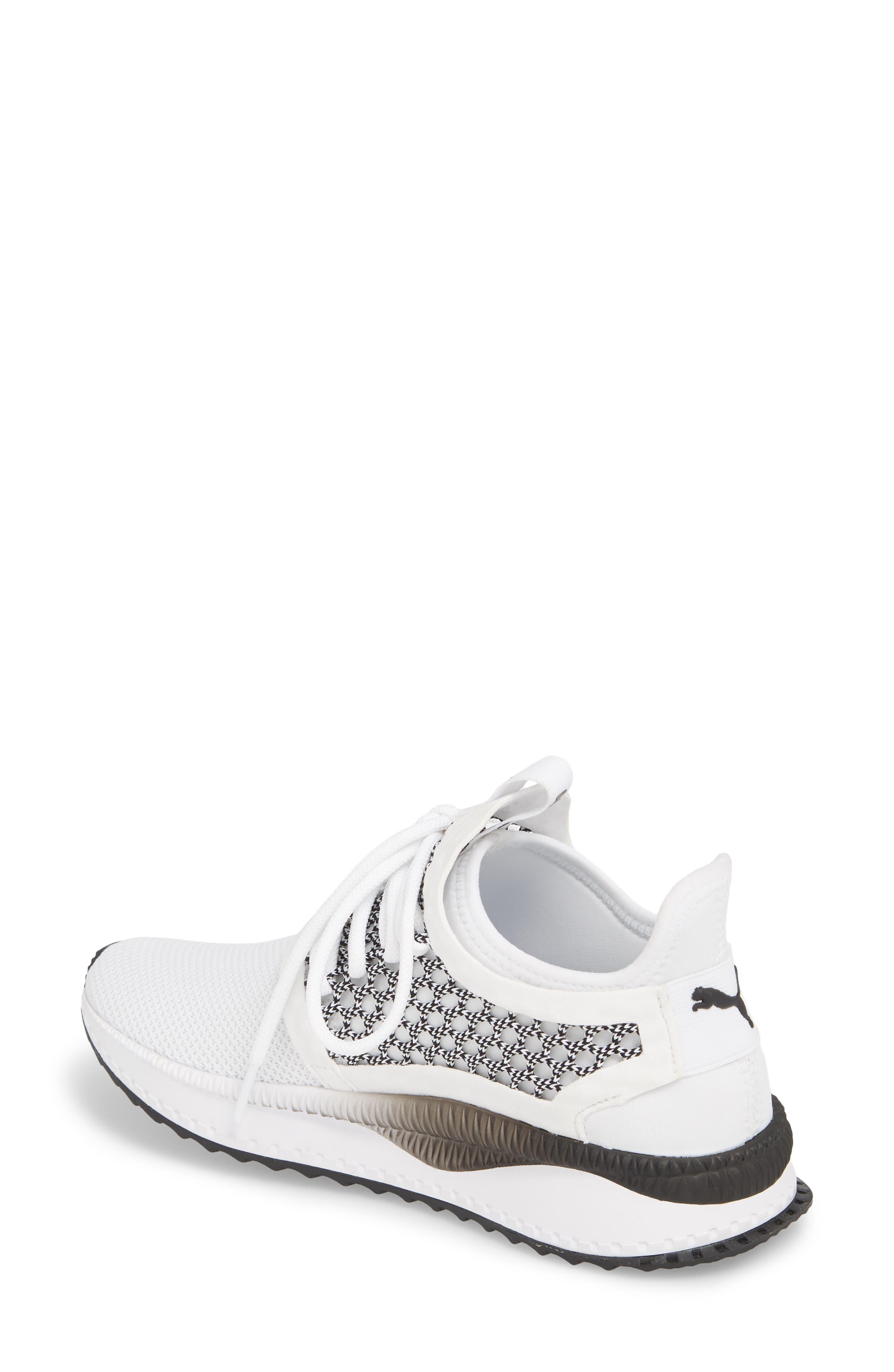 Tsugi Netfit evoKNIT Training Shoe,                             Alternate thumbnail 2, color,                             White/ Black