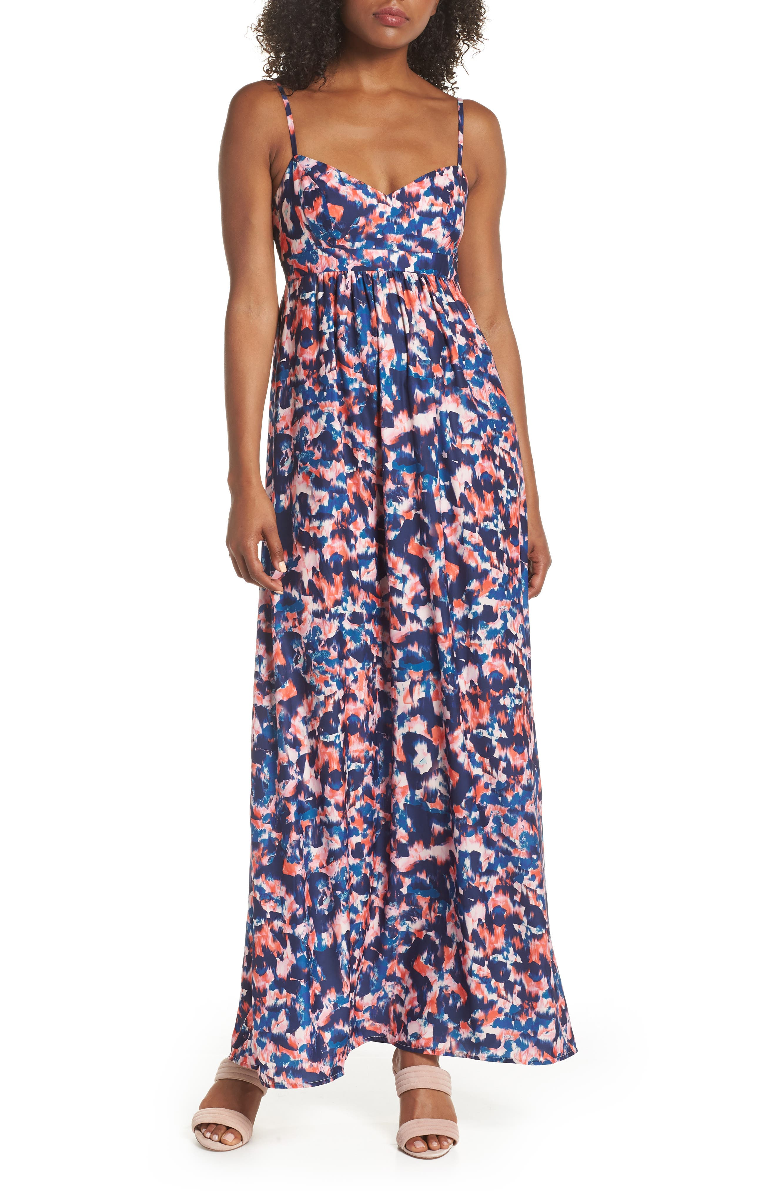 Main Image - Felicity & Coco Colby Woven Maxi Dress (Regular & Petite) (Nordstrom Exclusive)