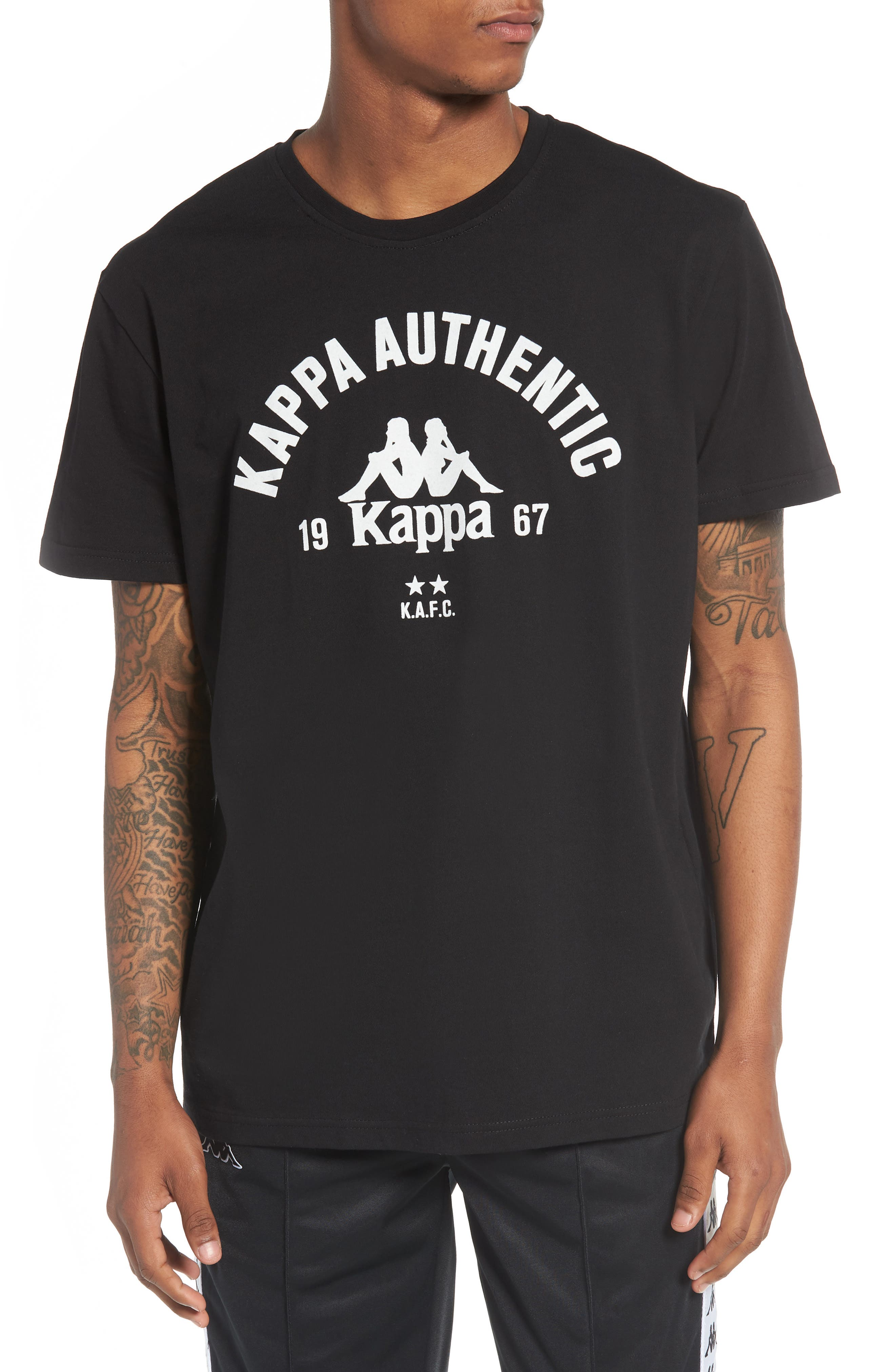 Authentic Graphic T-Shirt,                         Main,                         color, Black