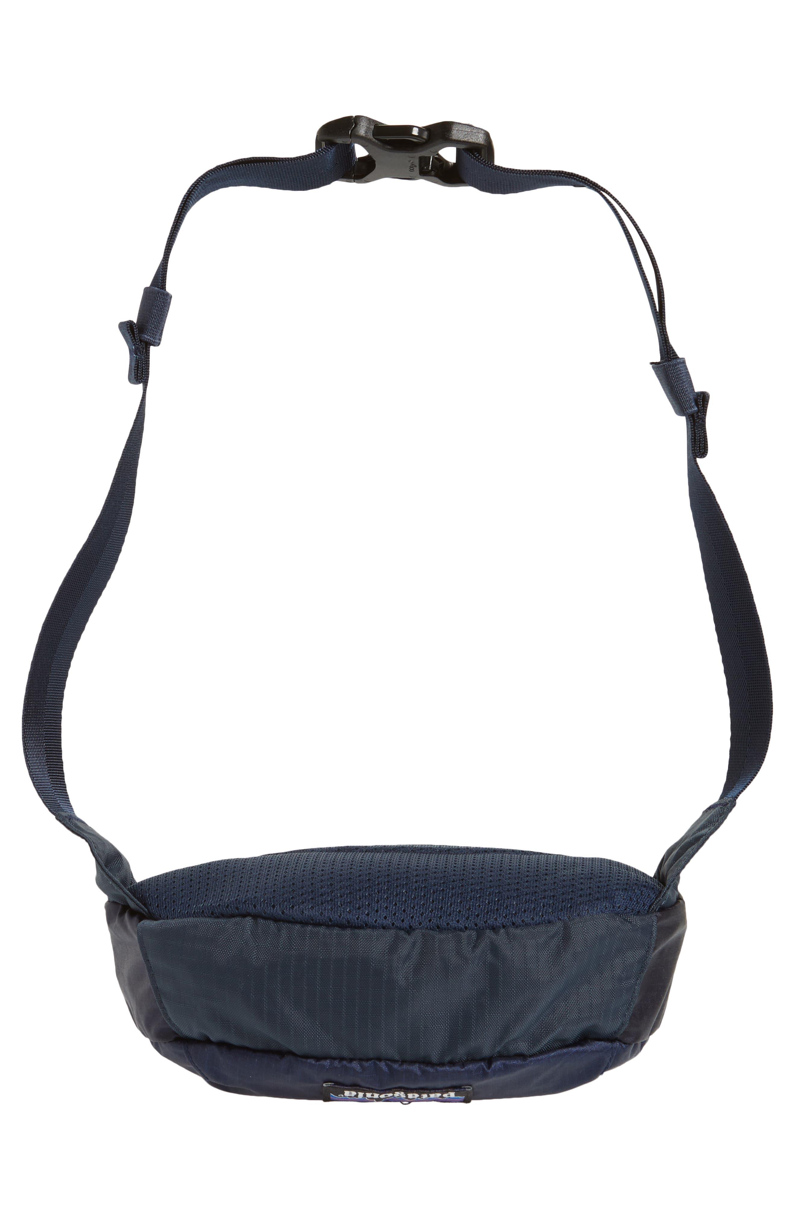 Travel Belt Bag,                             Alternate thumbnail 3, color,                             Smolder Blue