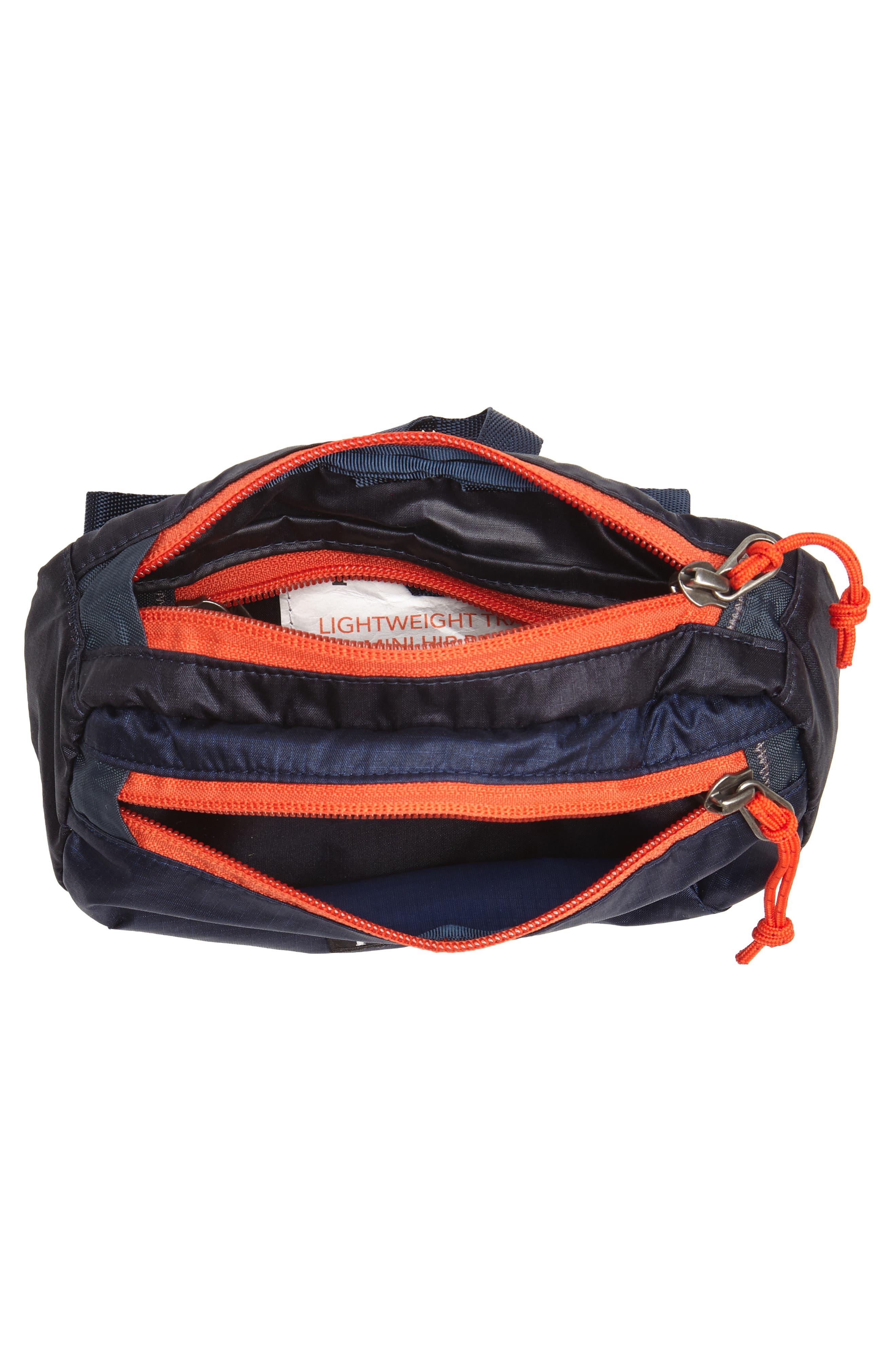 Travel Belt Bag,                             Alternate thumbnail 4, color,                             Smolder Blue
