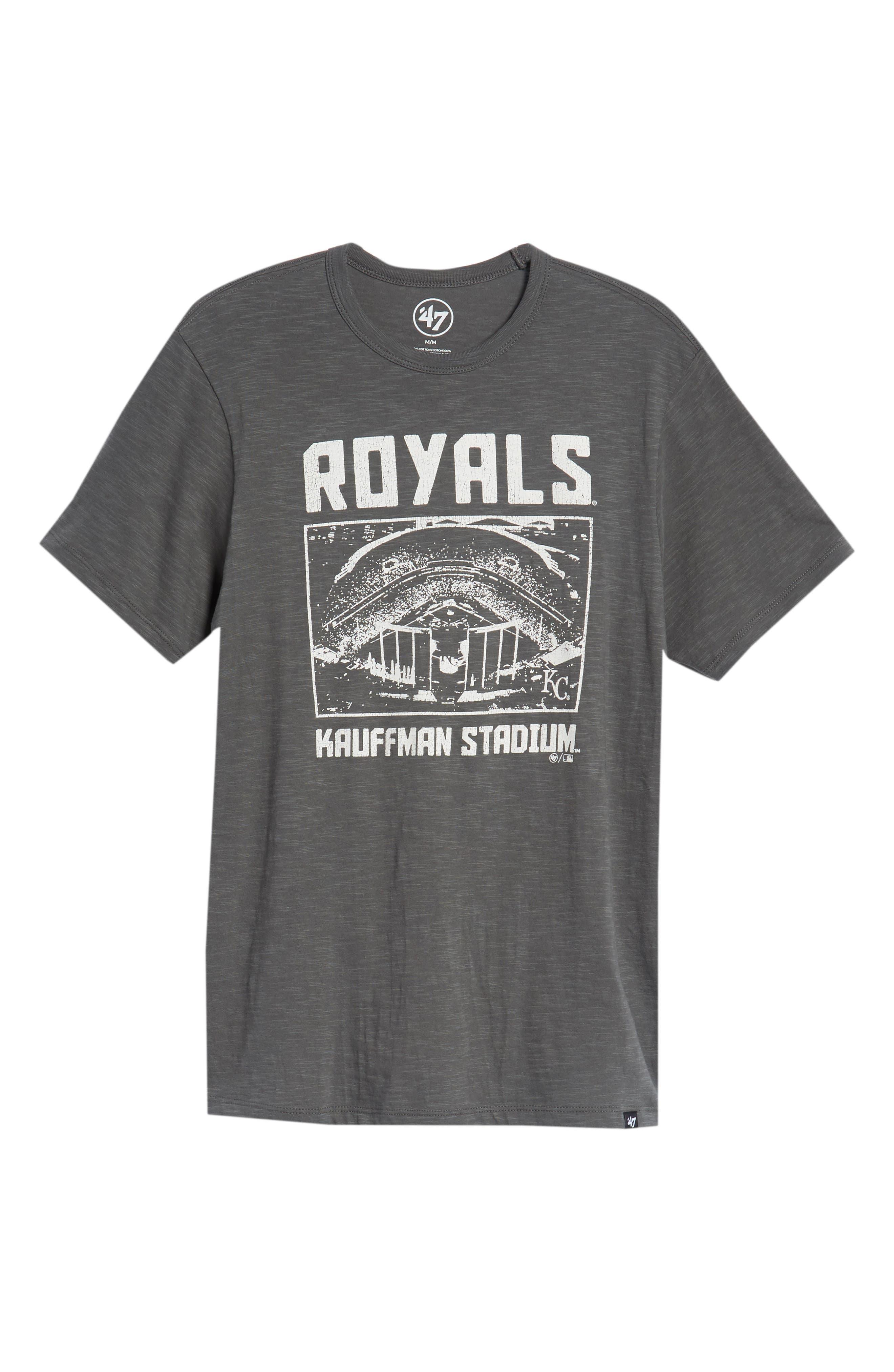 MLB Overdrive Scrum Kansas City Royals T-Shirt,                             Alternate thumbnail 6, color,                             Submarine